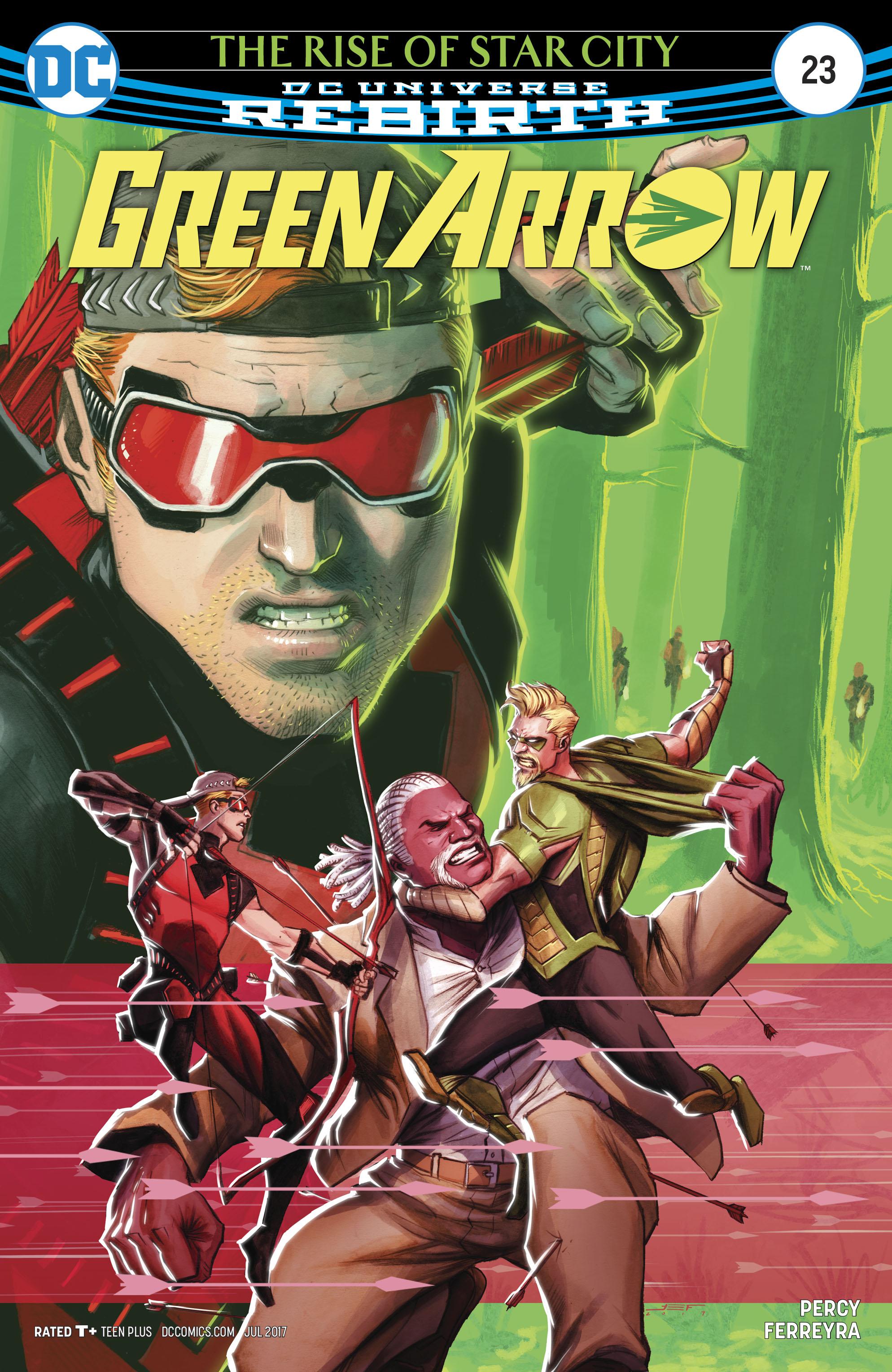 Read online Green Arrow (2016) comic -  Issue #23 - 1