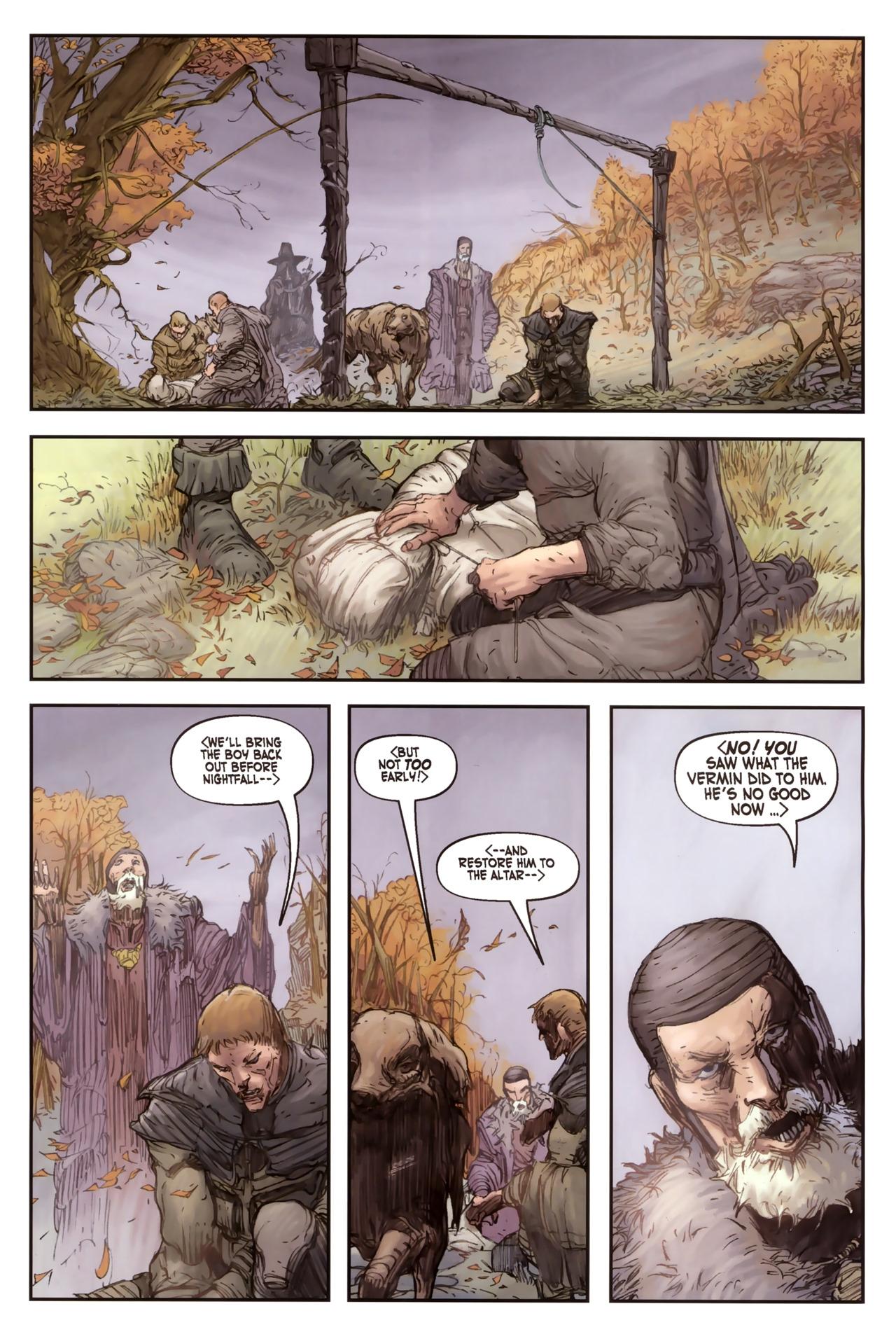 Read online Solomon Kane comic -  Issue #2 - 23