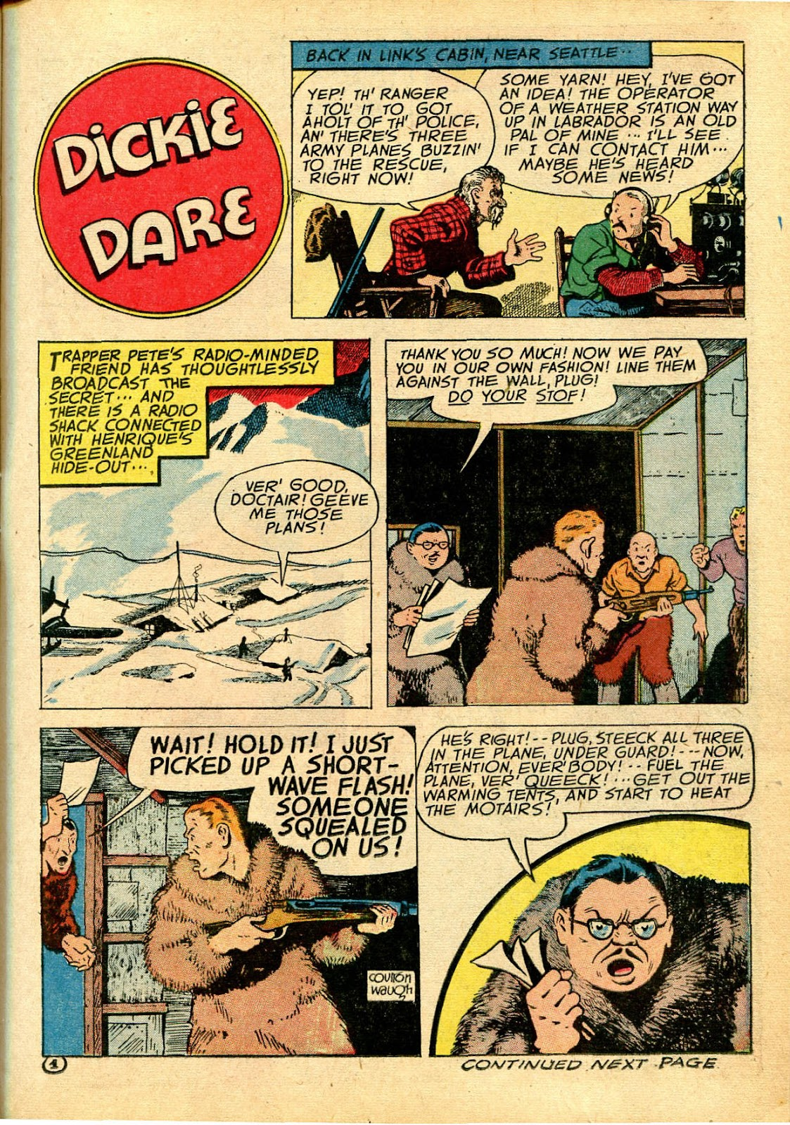 Read online Famous Funnies comic -  Issue #111 - 19