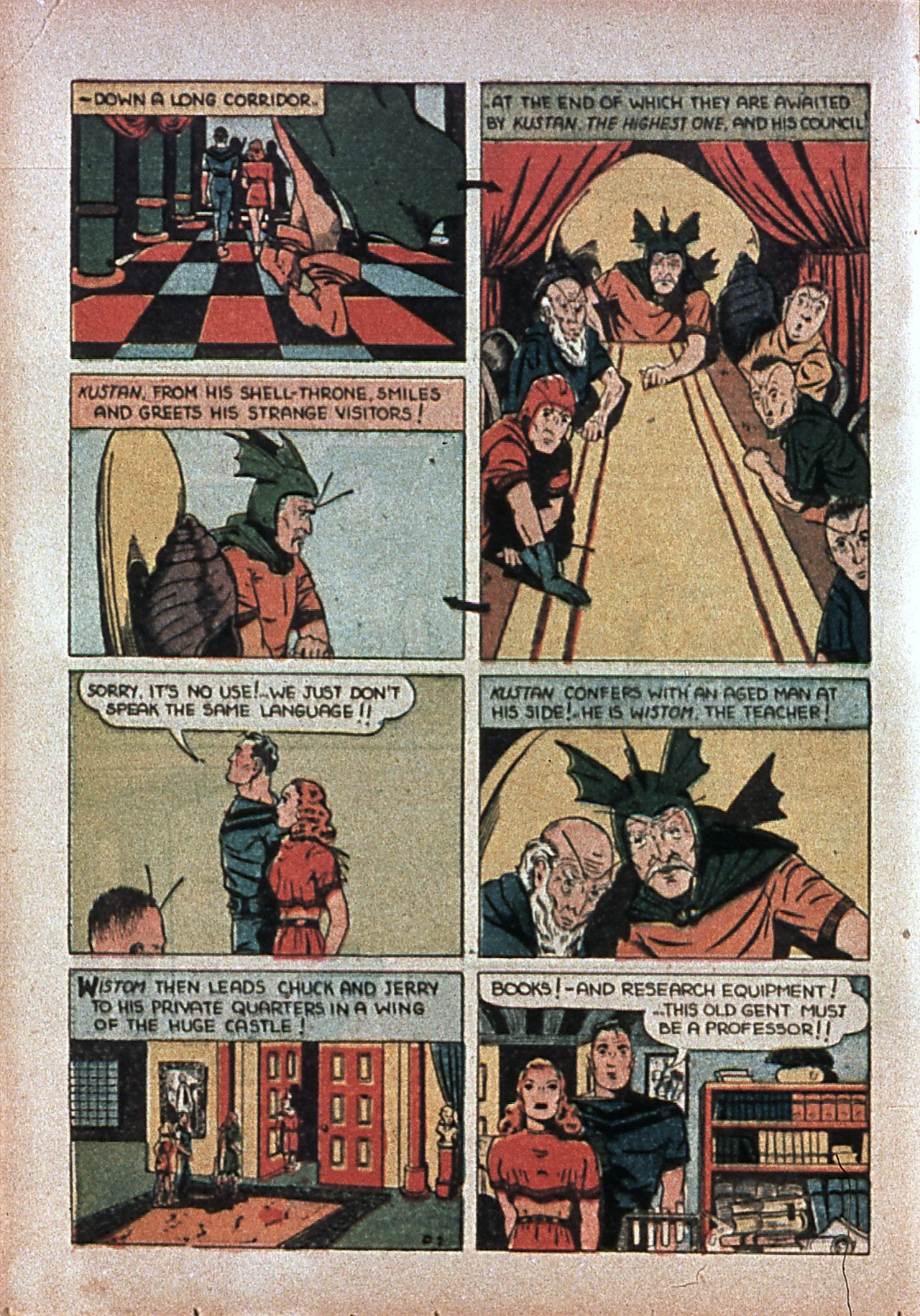 Read online Amazing Man Comics comic -  Issue #7 - 47