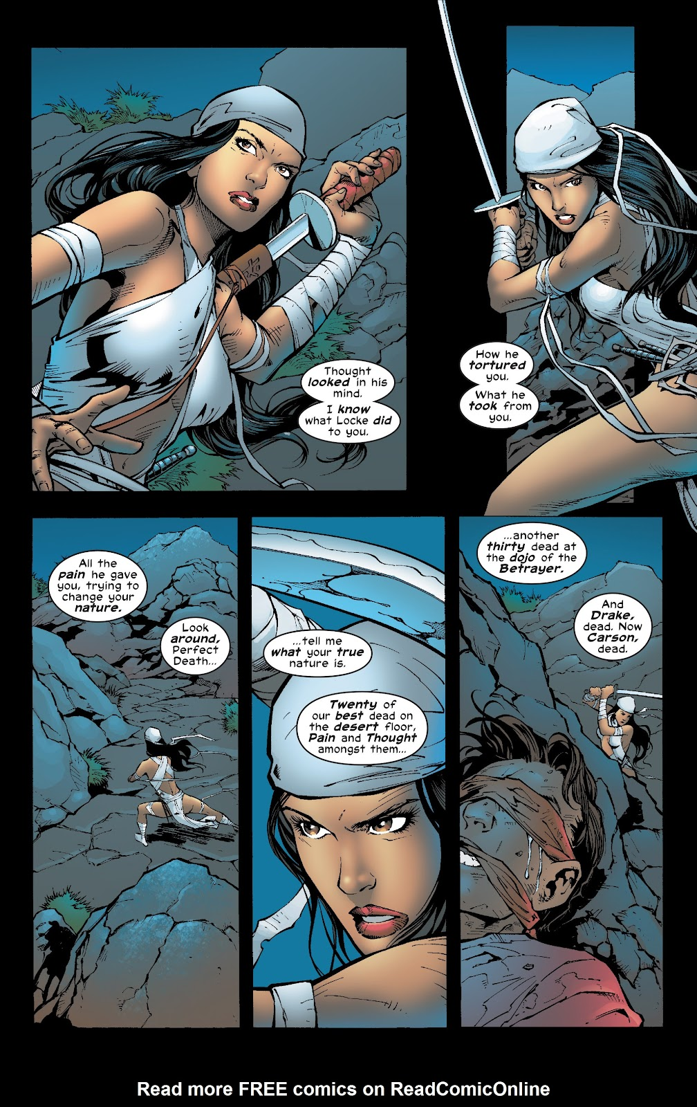 Read online Elektra (2001) comic -  Issue # _TPB Elektra by Greg Rucka Ultimate Collection (Part 4) - 72