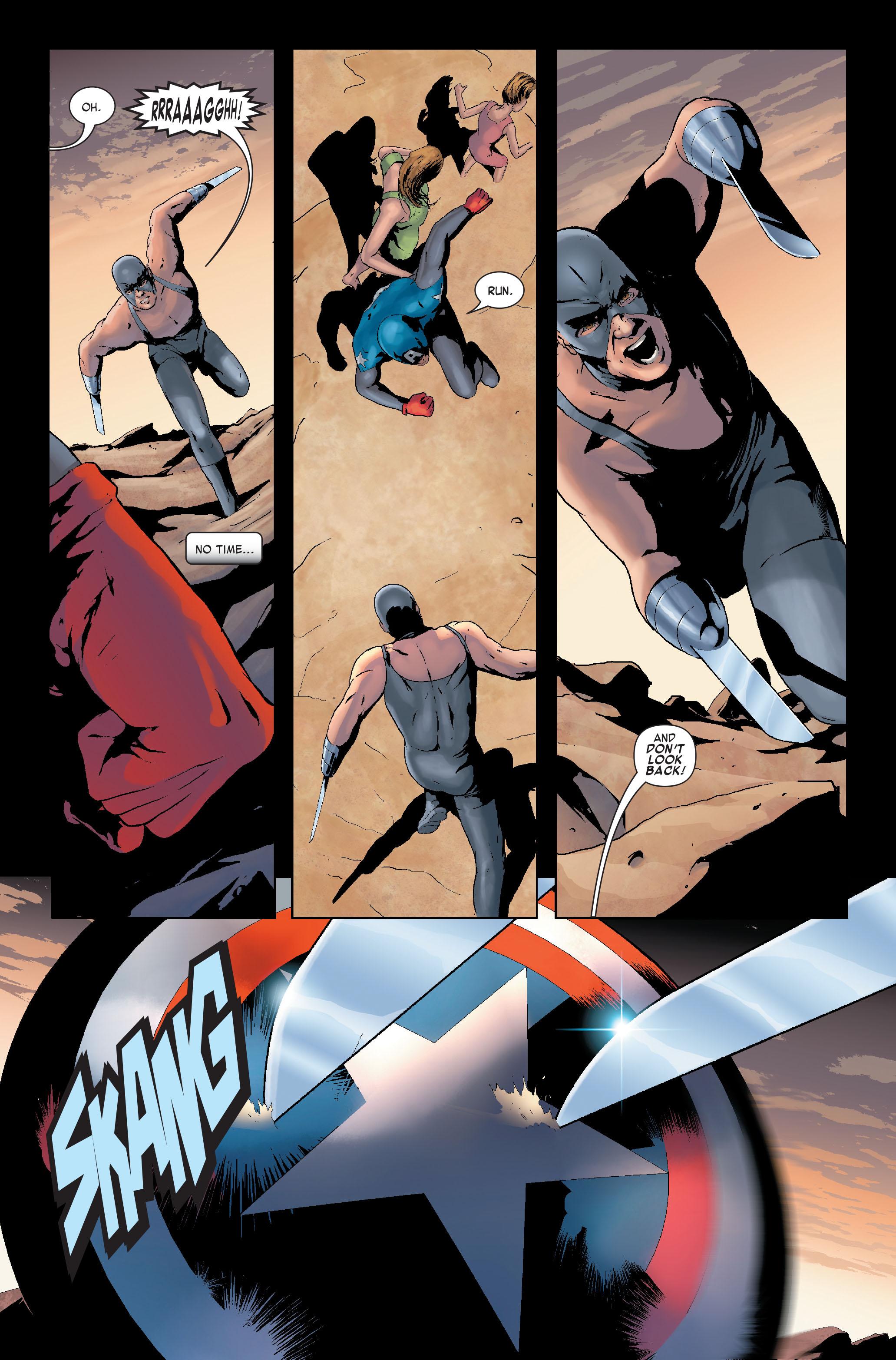 Read online Siege: Captain America comic -  Issue # Full - 21