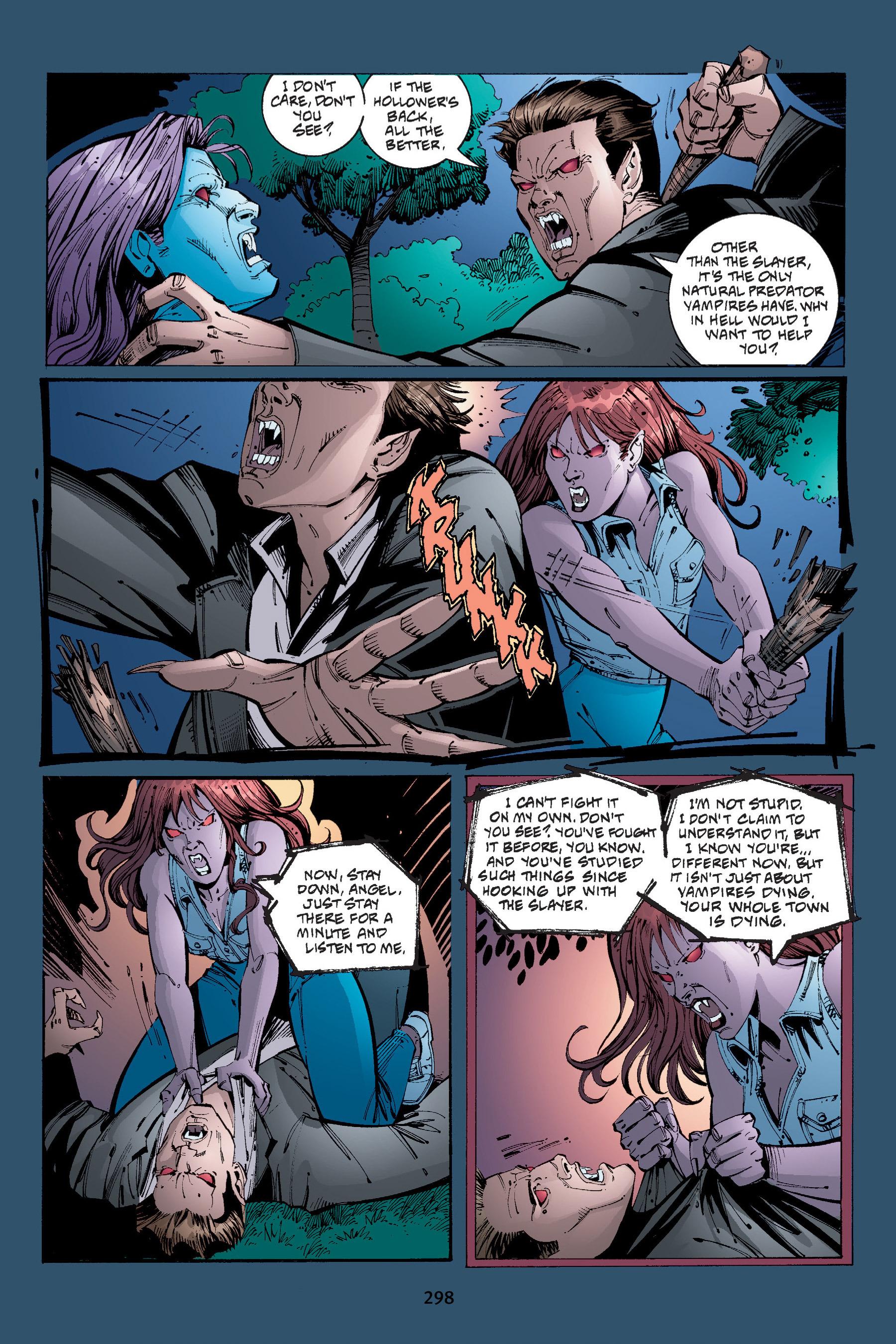 Read online Buffy the Vampire Slayer: Omnibus comic -  Issue # TPB 4 - 295