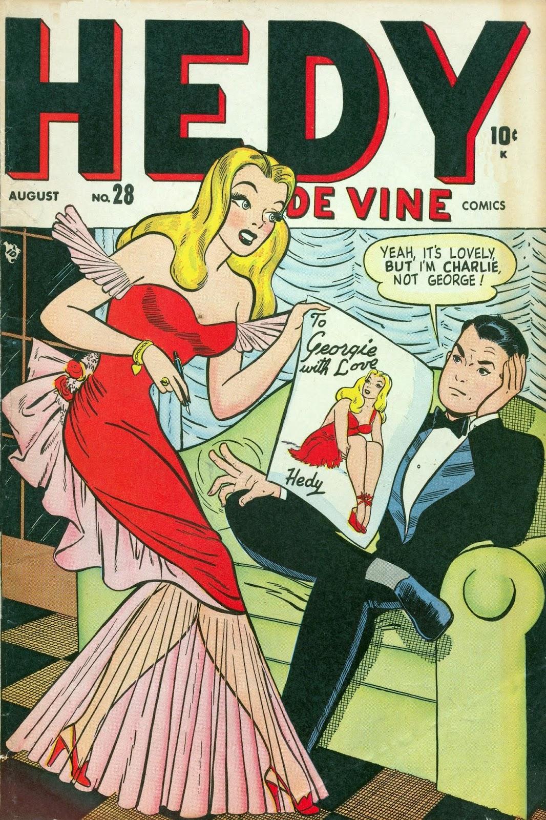 Hedy De Vine Comics issue 28 - Page 1