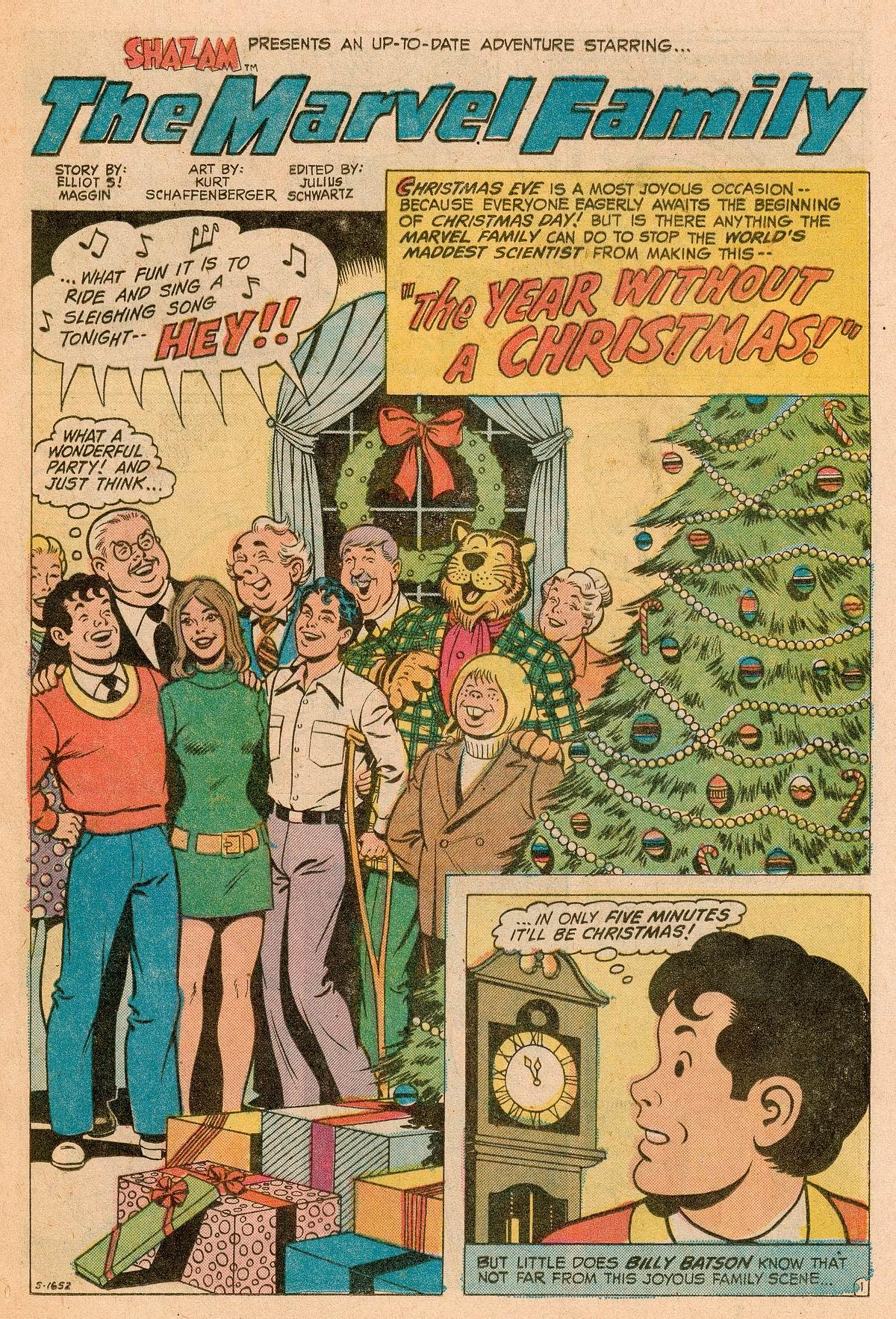 Read online Shazam! (1973) comic -  Issue #11 - 15