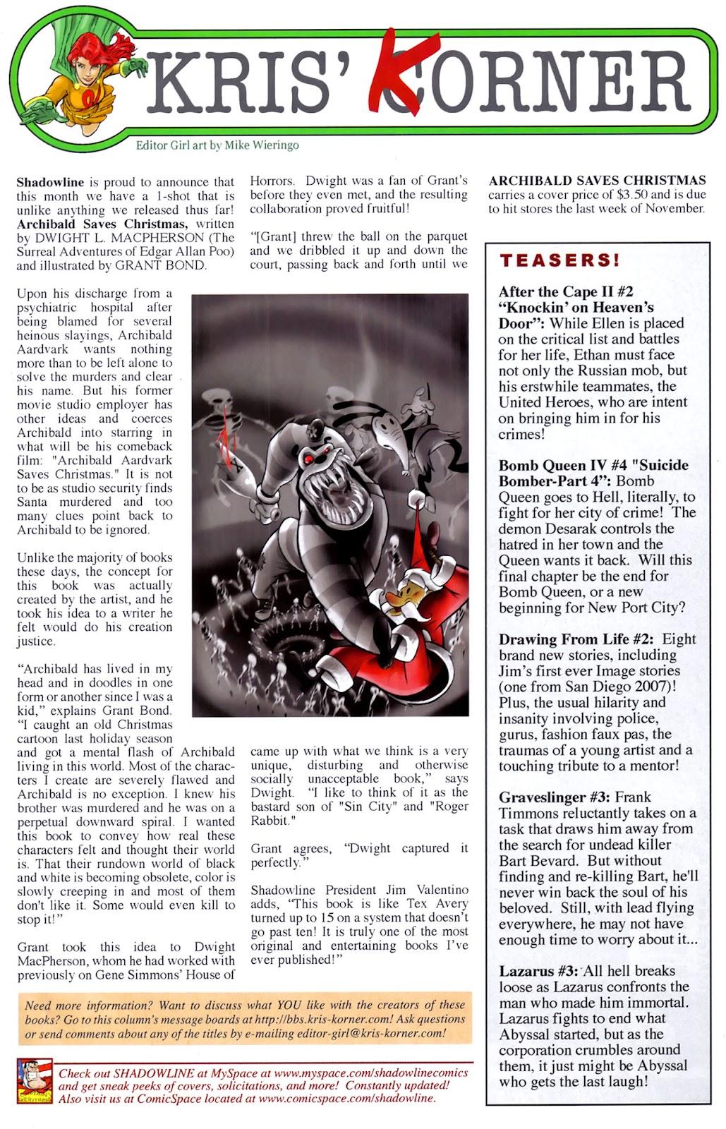 Read online Lazarus (2007) comic -  Issue #2 - 26