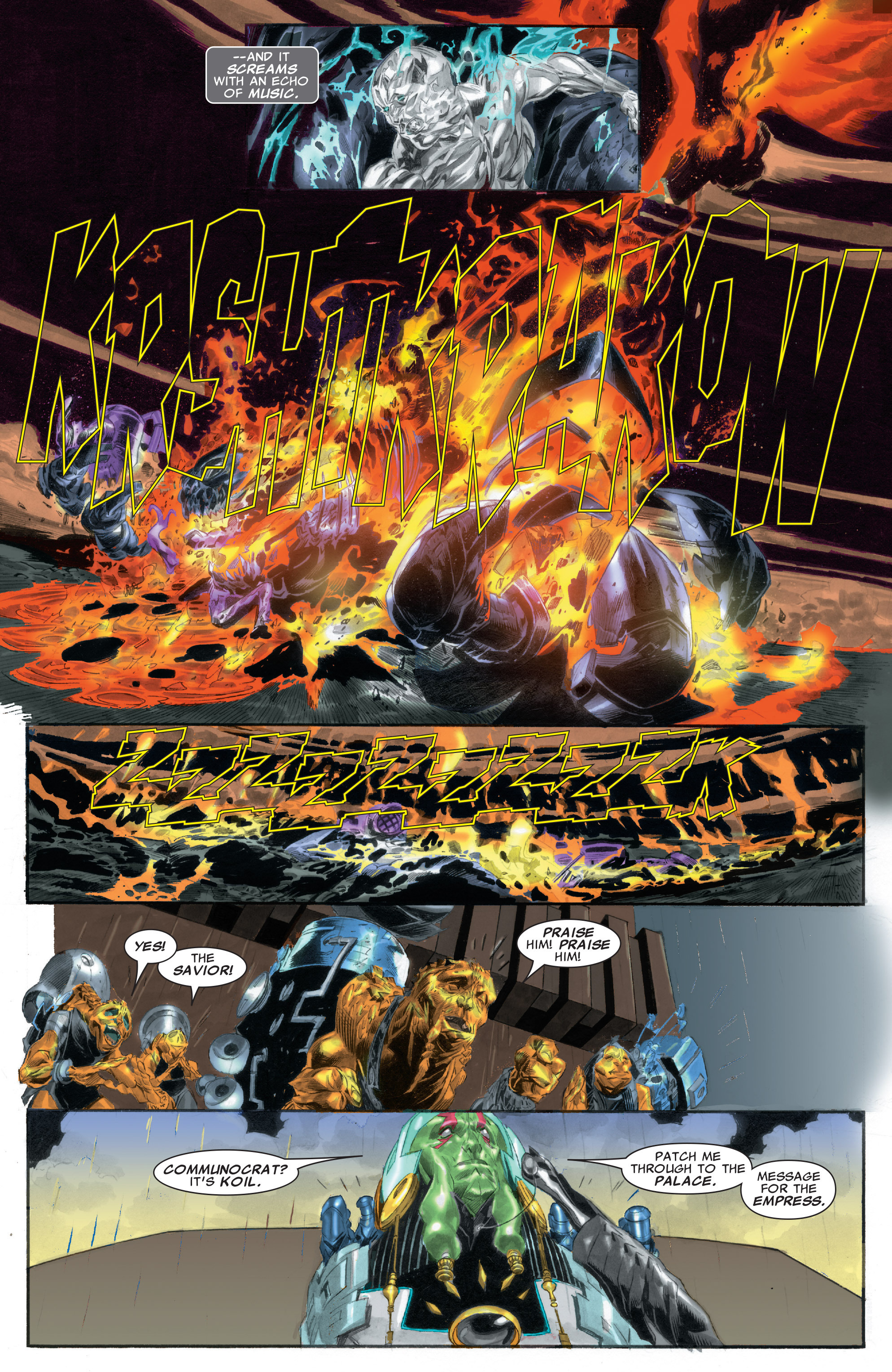 Read online Silver Surfer: In Thy Name comic -  Issue #2 - 6