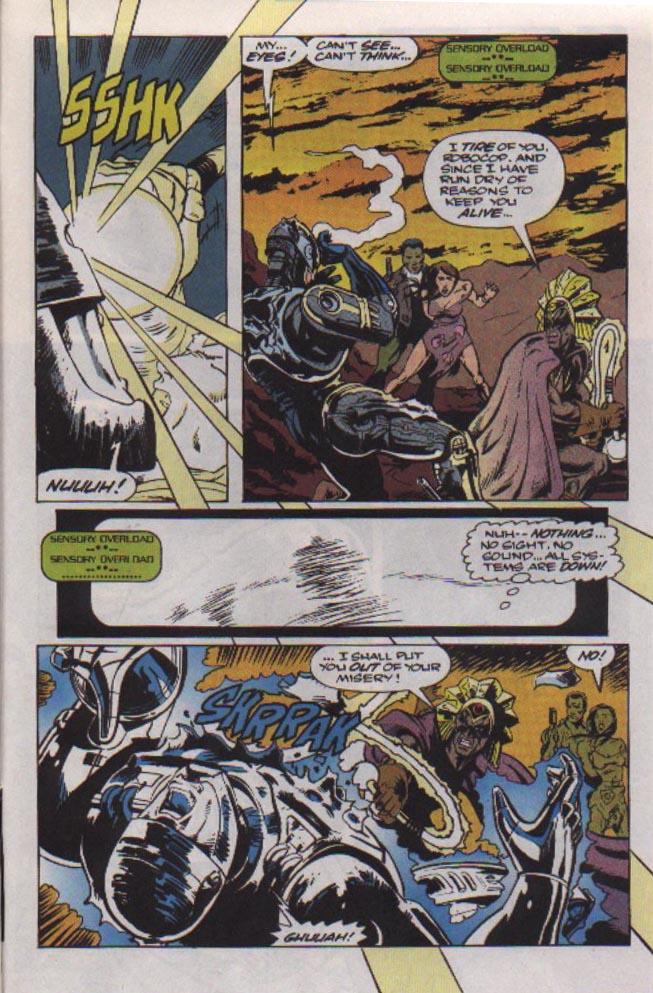 Read online Robocop (1990) comic -  Issue #22 - 21