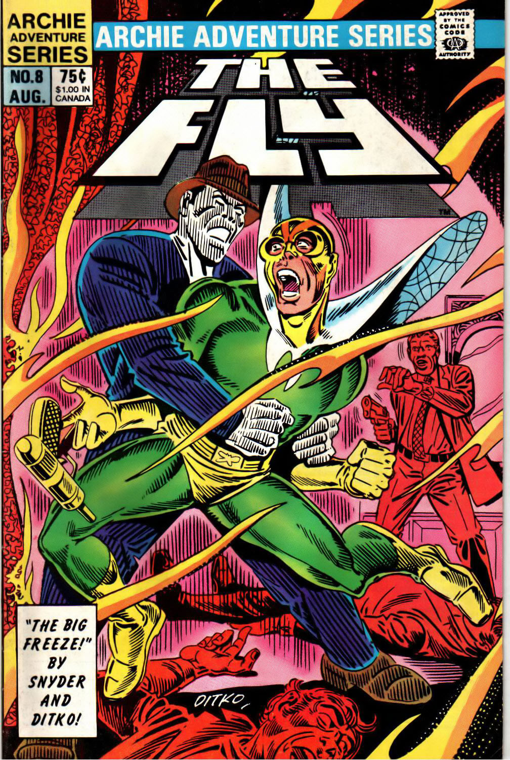 Read online The Fly (1983) comic -  Issue #8 - 1