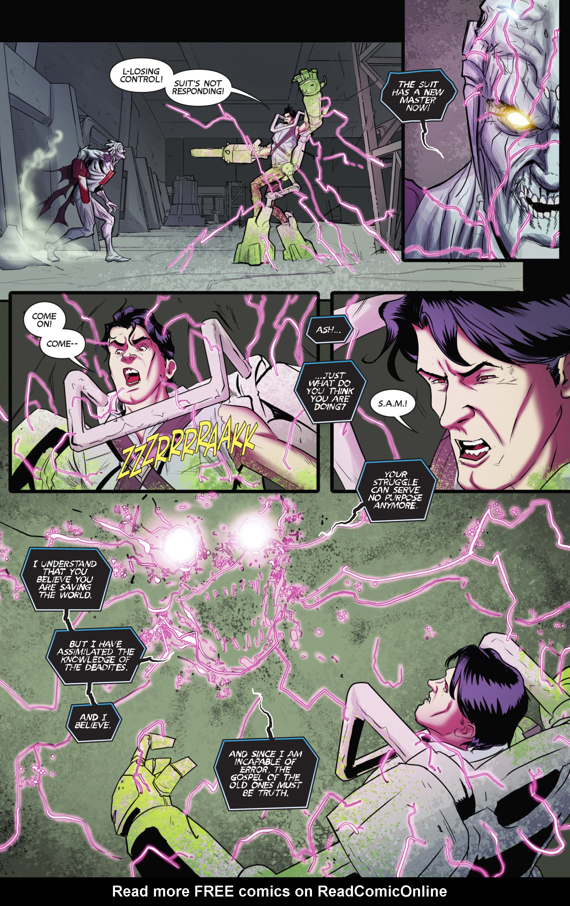 Read online Army of Darkness (2014) comic -  Issue #4 - 18