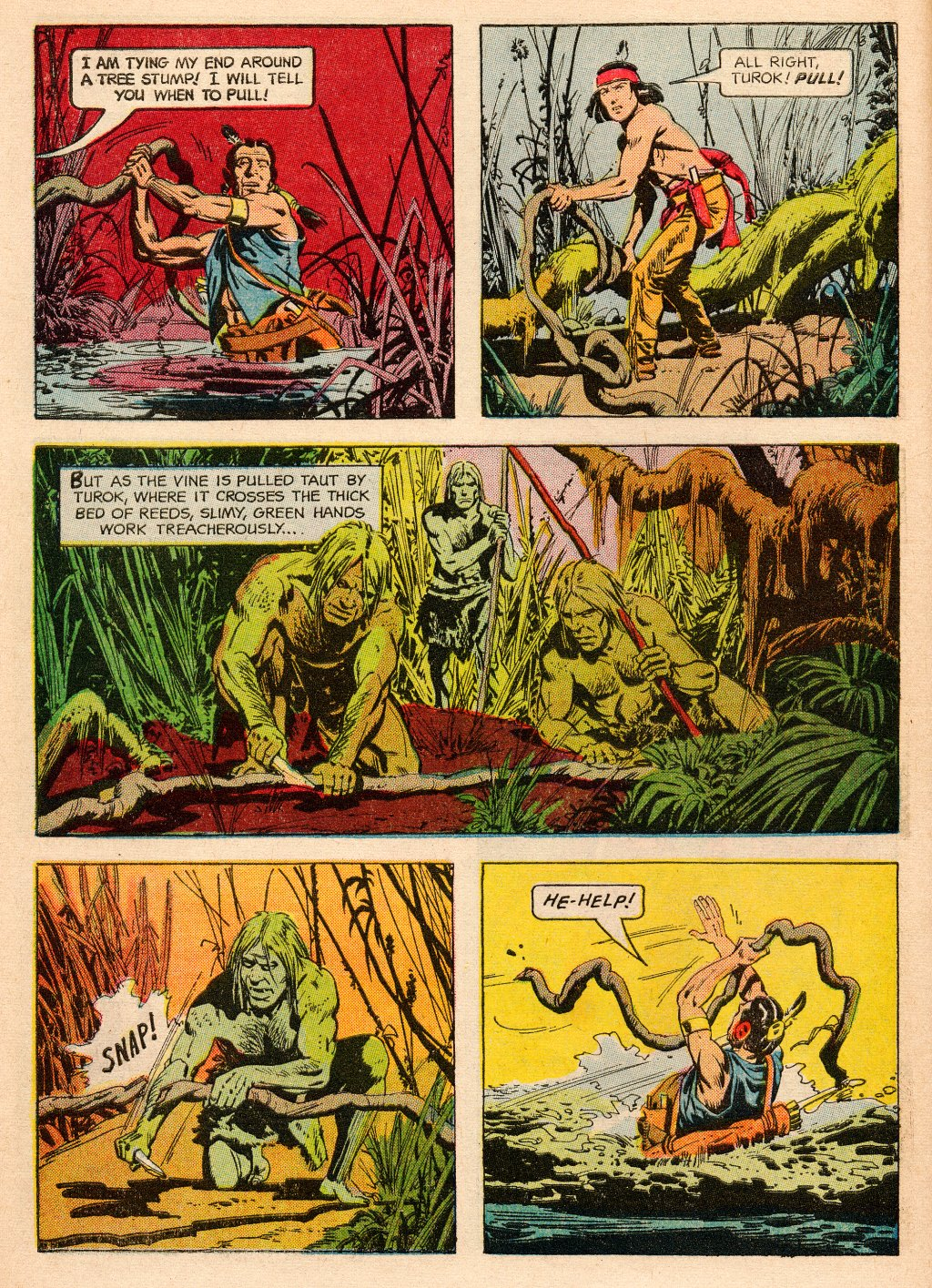 Read online Turok, Son of Stone comic -  Issue #33 - 10