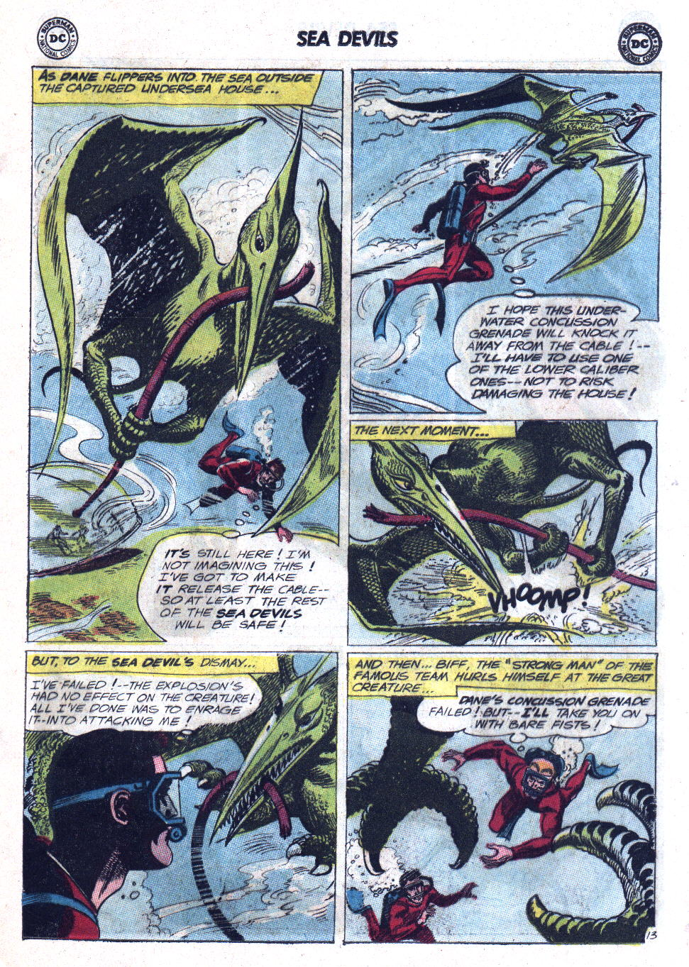 Read online Sea Devils comic -  Issue #11 - 17
