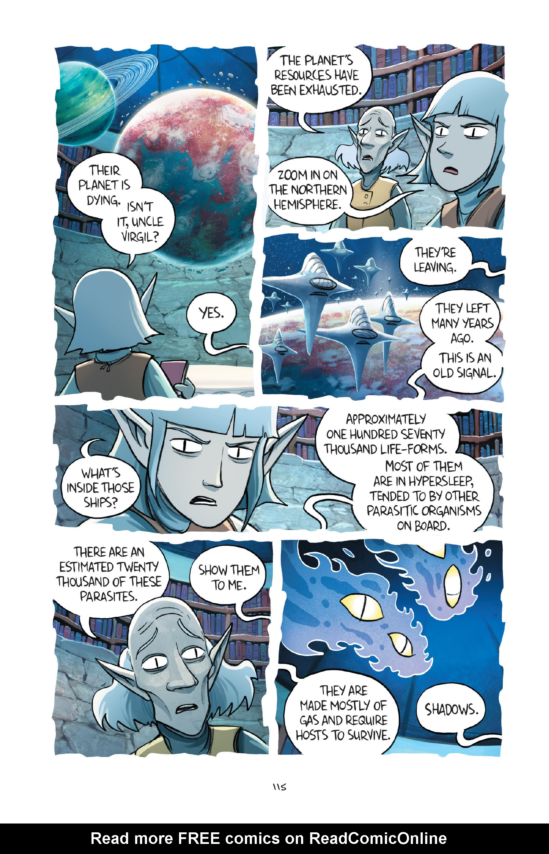 Read online Amulet comic -  Issue #7 - 115