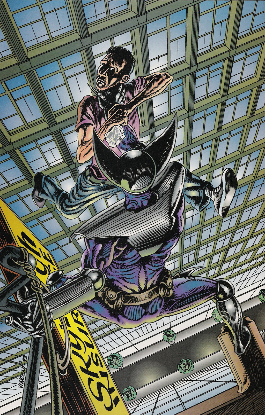 Read online ShadowHawk Gallery comic -  Issue # Full - 16