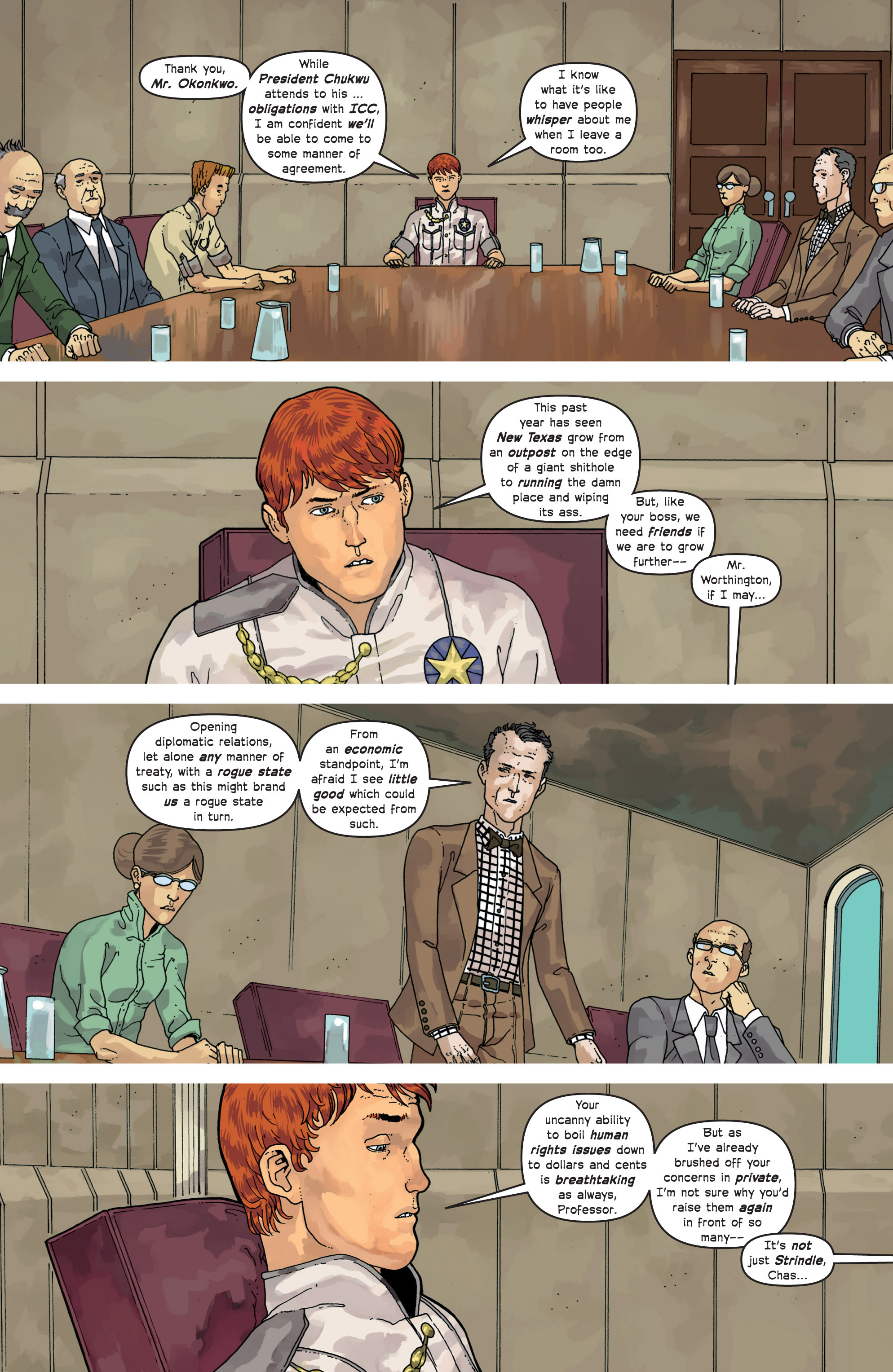 Read online Great Pacific comic -  Issue #9 - 9