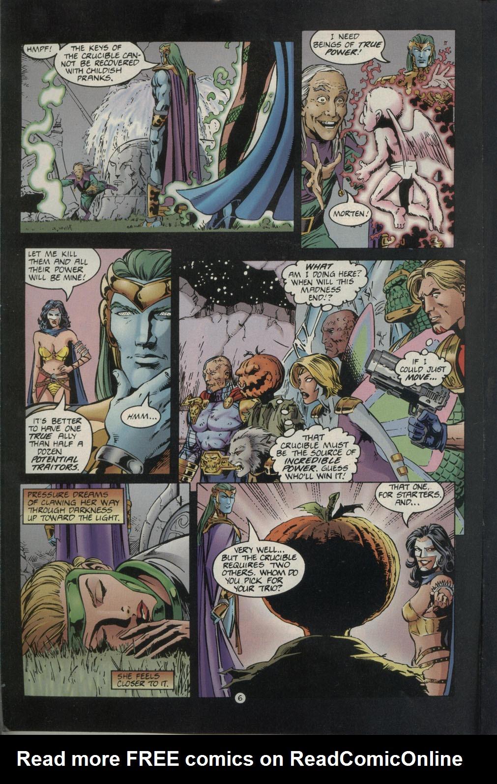 Read online Godwheel comic -  Issue #1 - 9