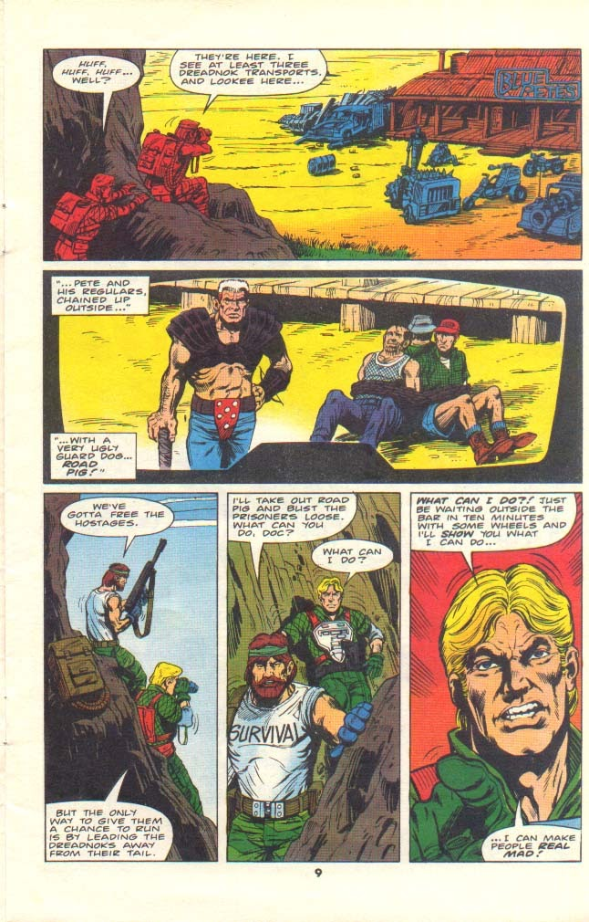 G.I. Joe European Missions issue 11 - Page 8