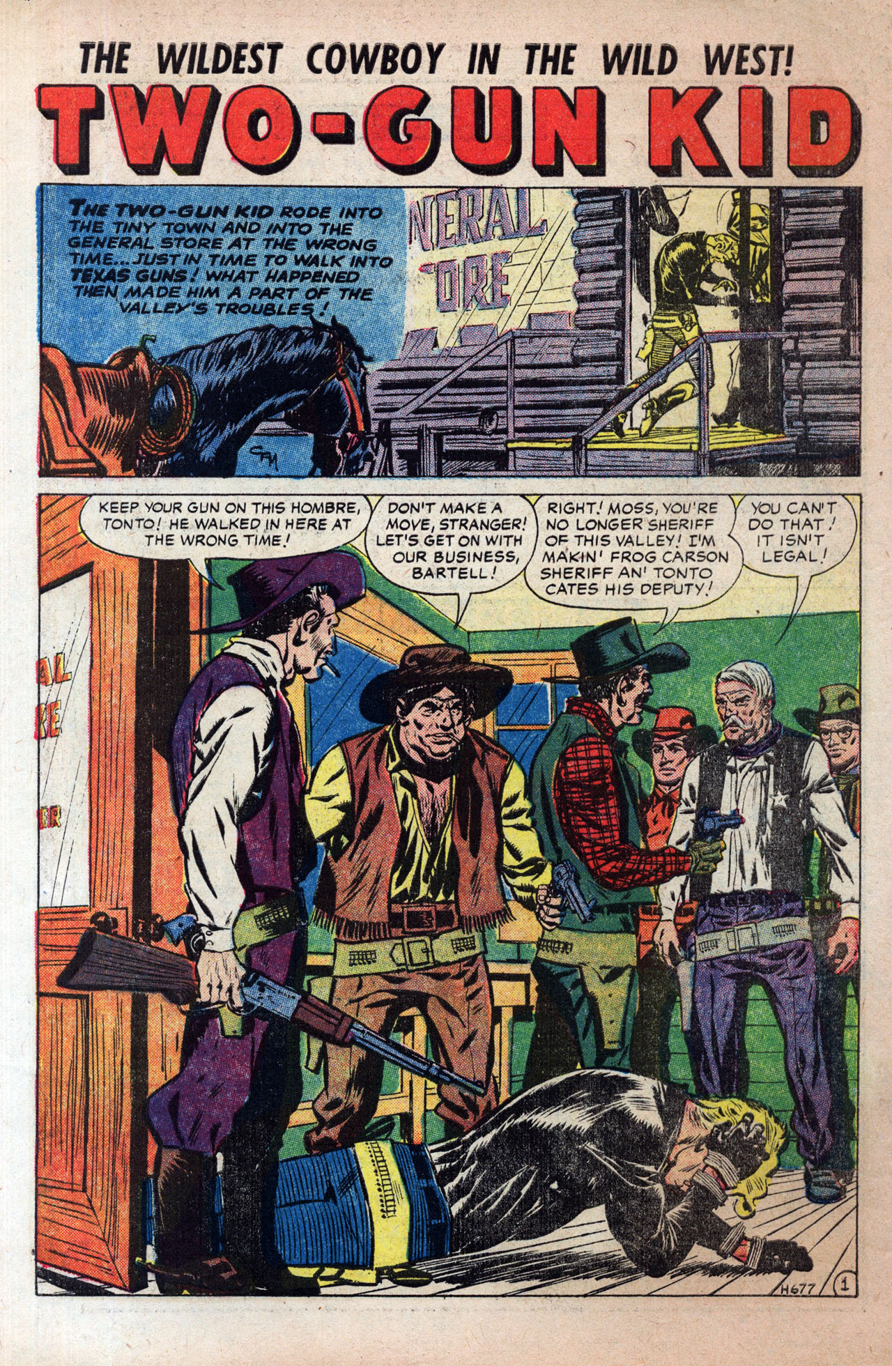 Read online Two-Gun Kid comic -  Issue #30 - 10