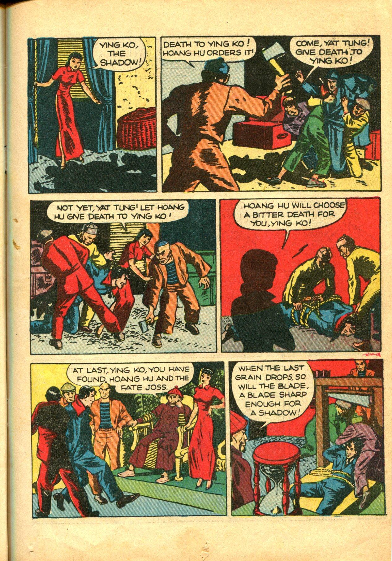 Read online Shadow Comics comic -  Issue #10 - 19