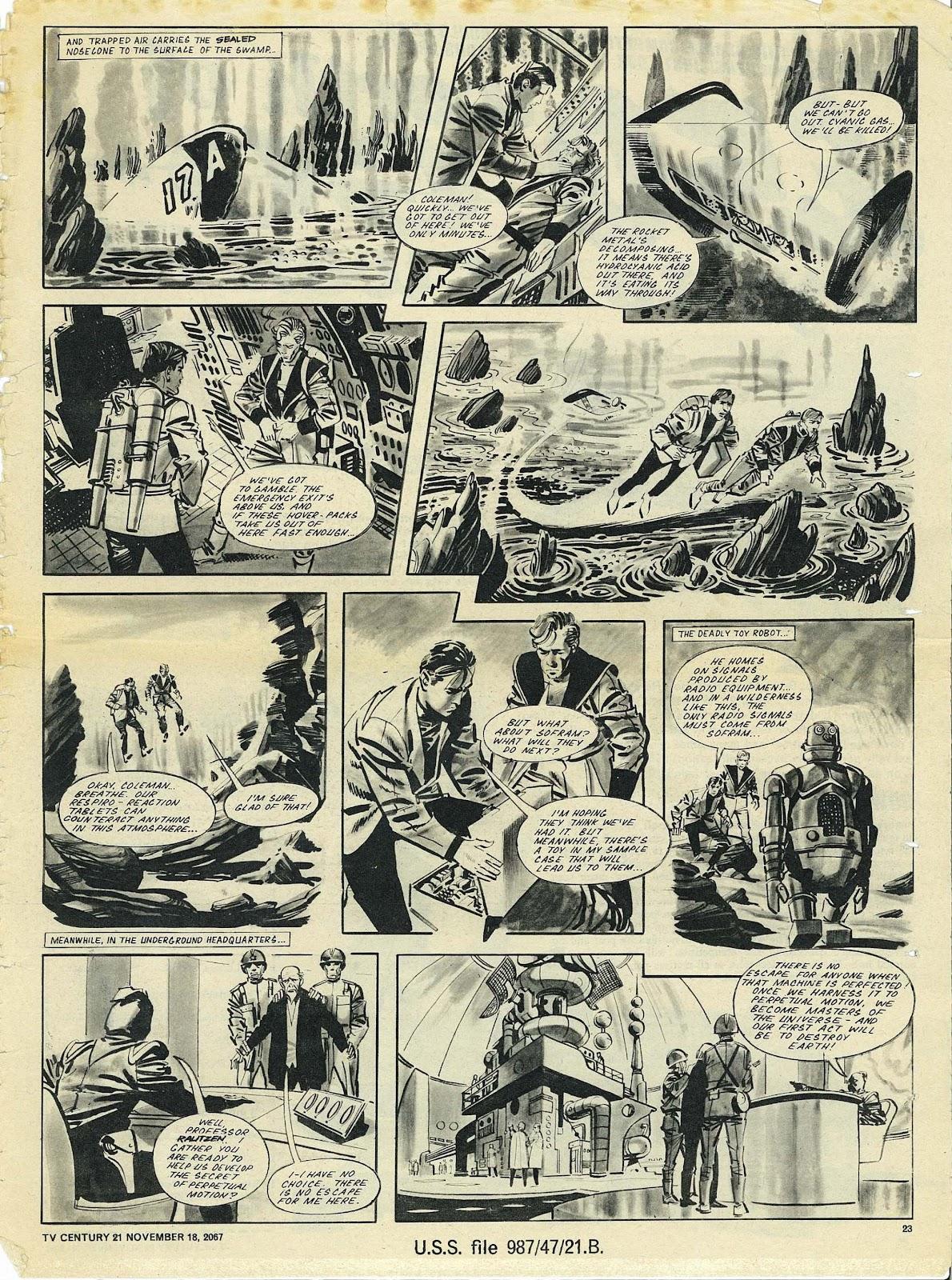 TV Century 21 (TV 21) issue 148 - Page 22
