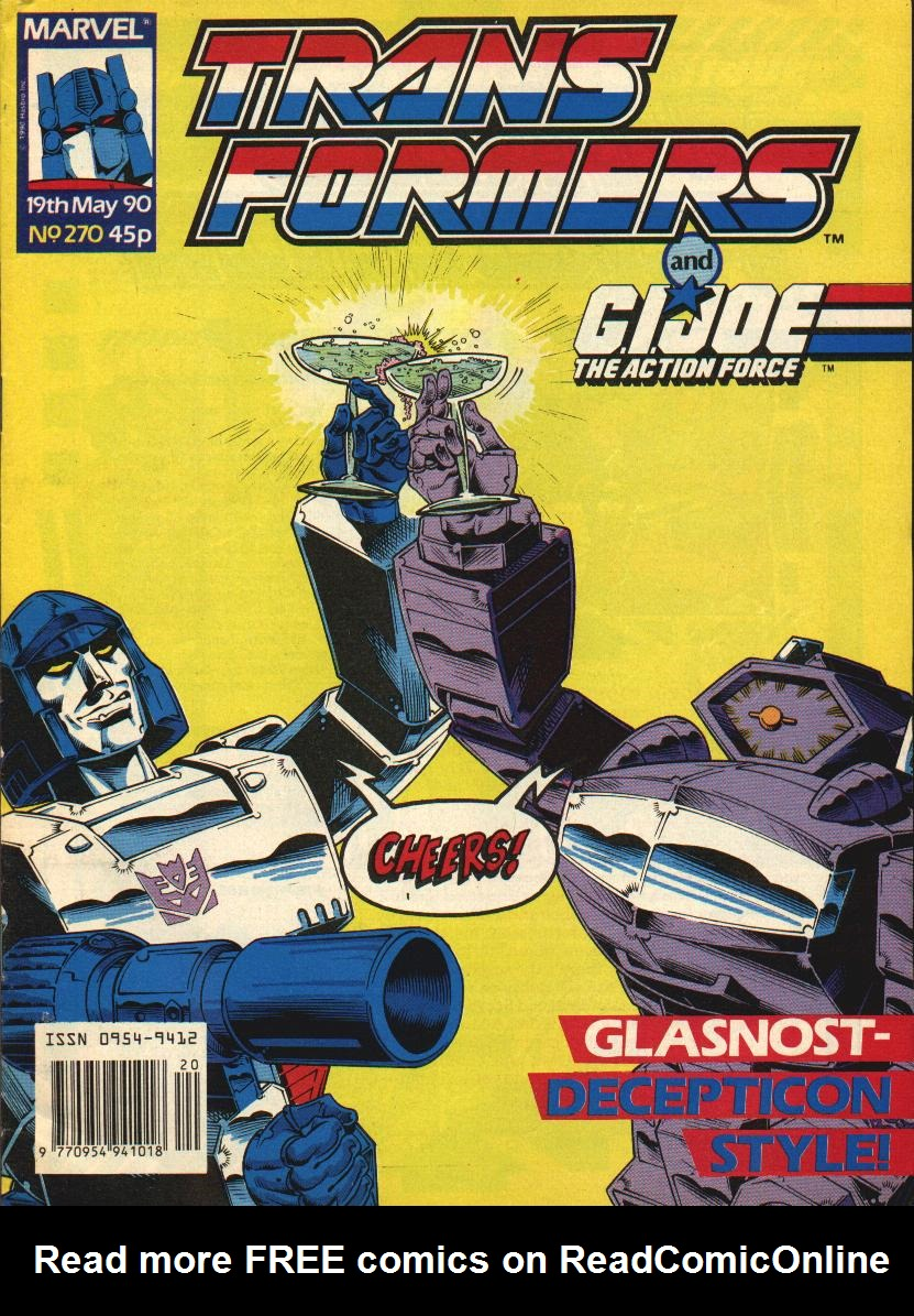 The Transformers (UK) 270 Page 1