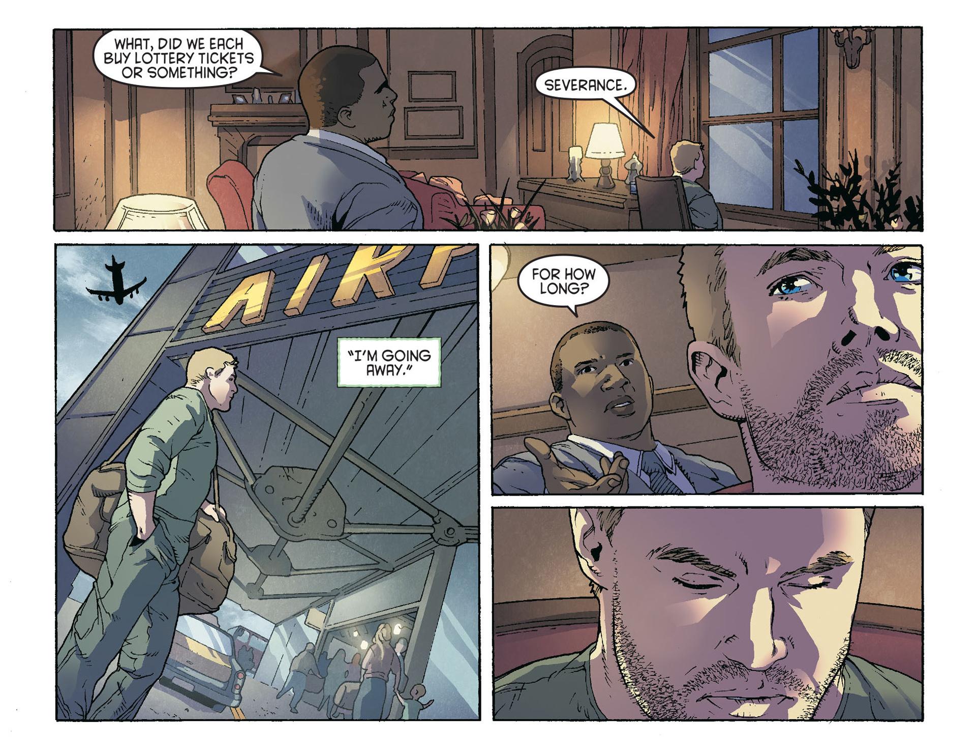 Read online Arrow [II] comic -  Issue #36 - 14