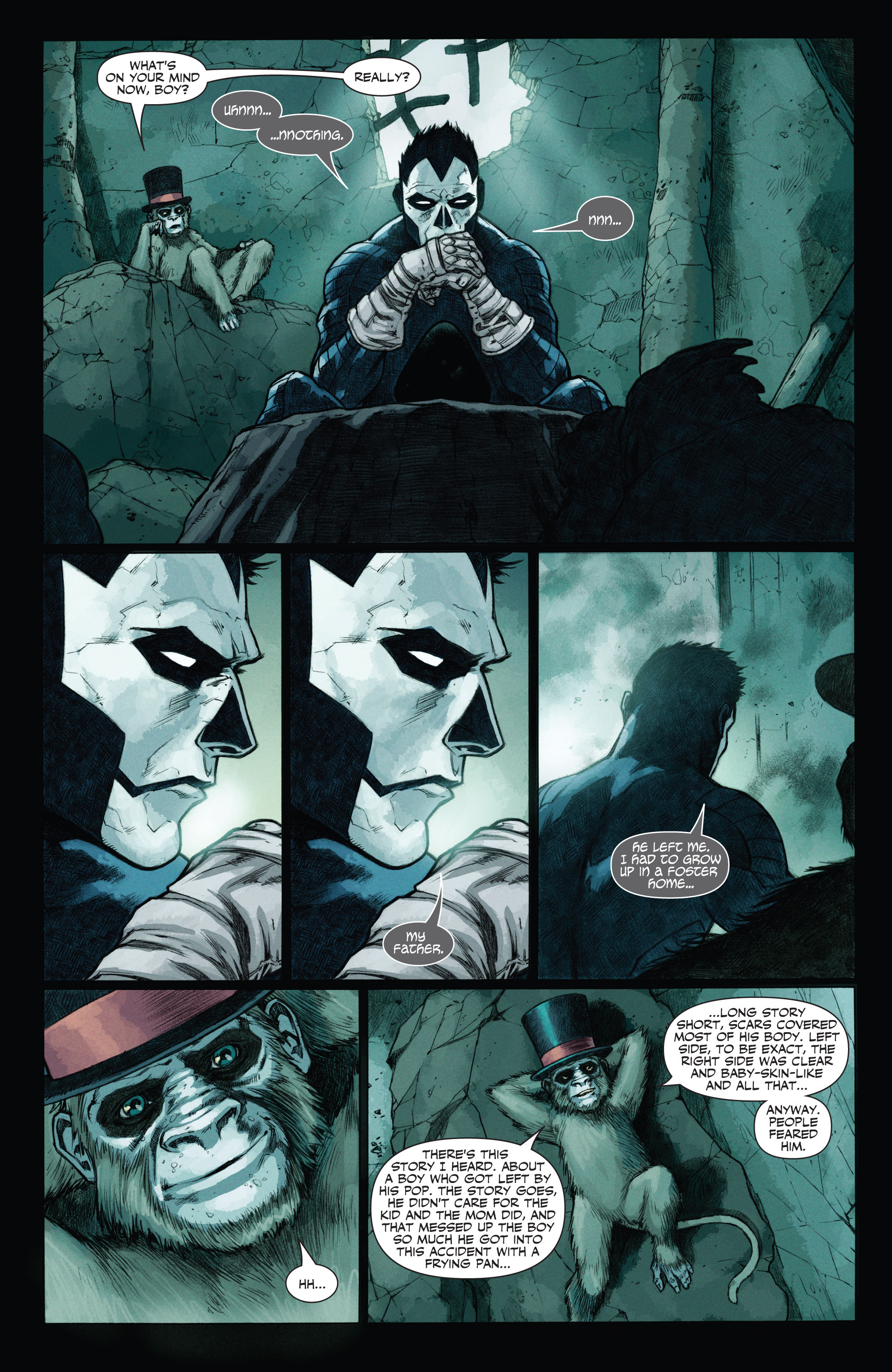 Read online Shadowman (2012) comic -  Issue #12 - 6