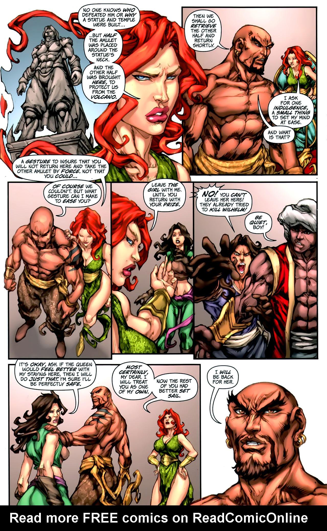 Read online 1001 Arabian Nights: The Adventures of Sinbad comic -  Issue #2 - 18