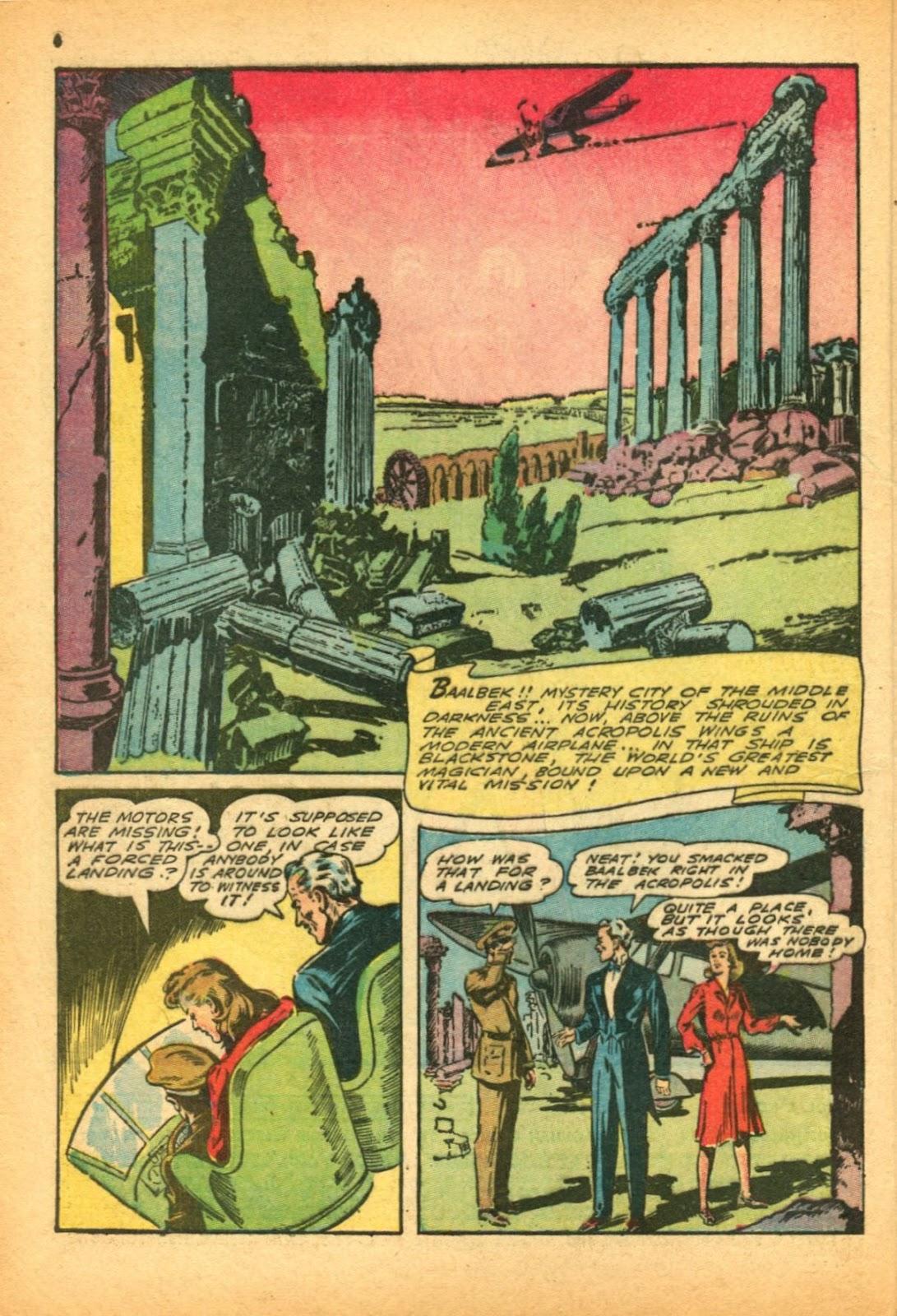 Read online Super-Magician Comics comic -  Issue #12 - 6