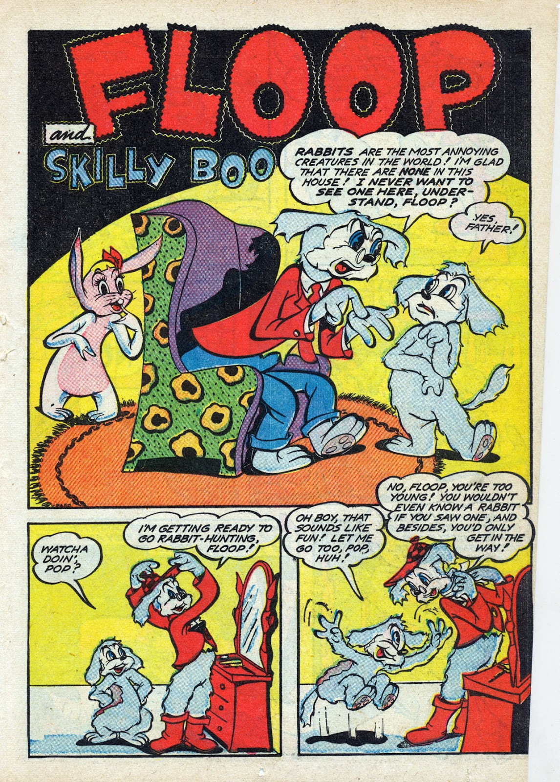 Read online Comedy Comics (1942) comic -  Issue #13 - 44