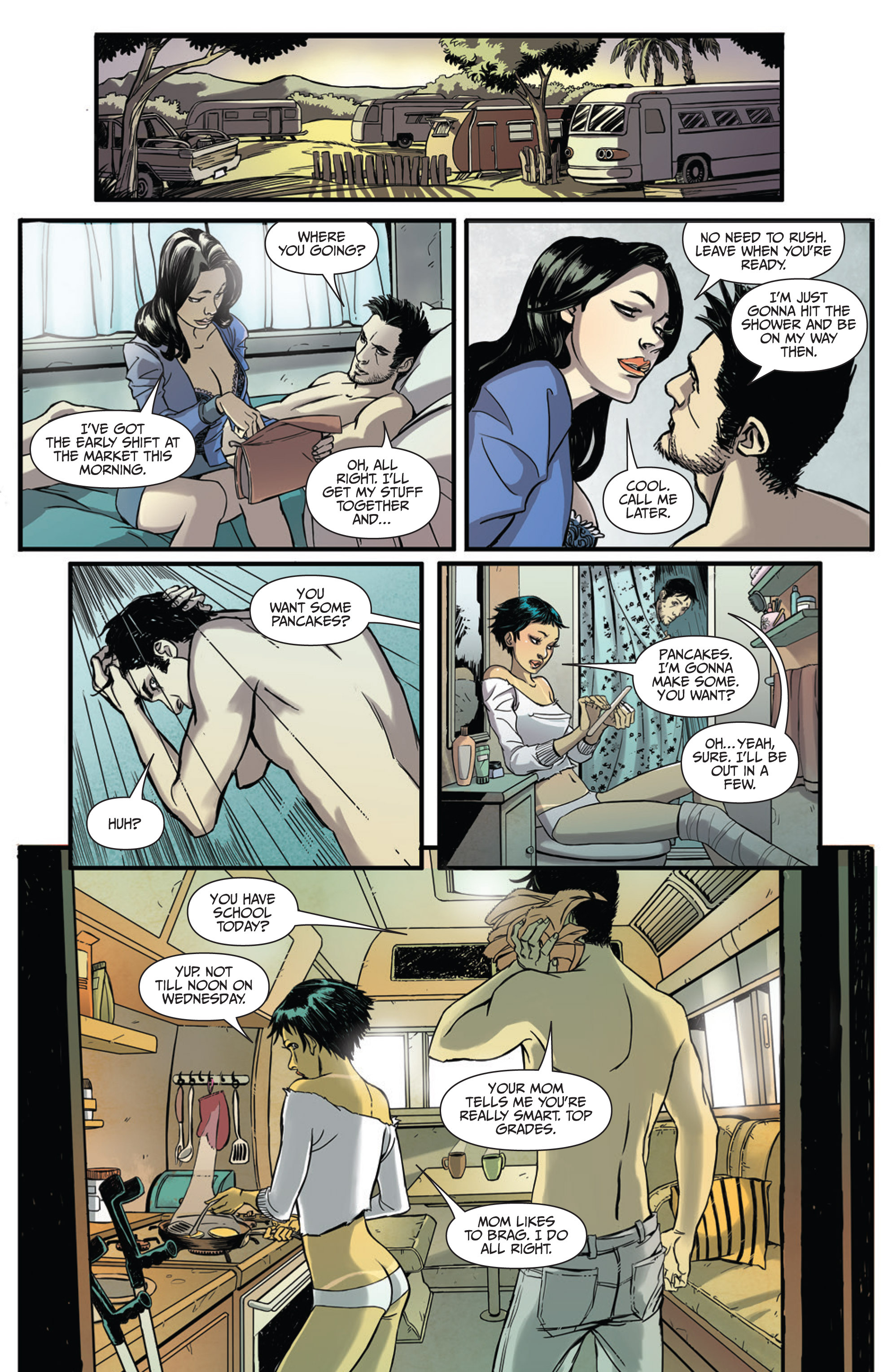 Read online Sex and Violence Vol. 2 comic -  Issue # Full - 6