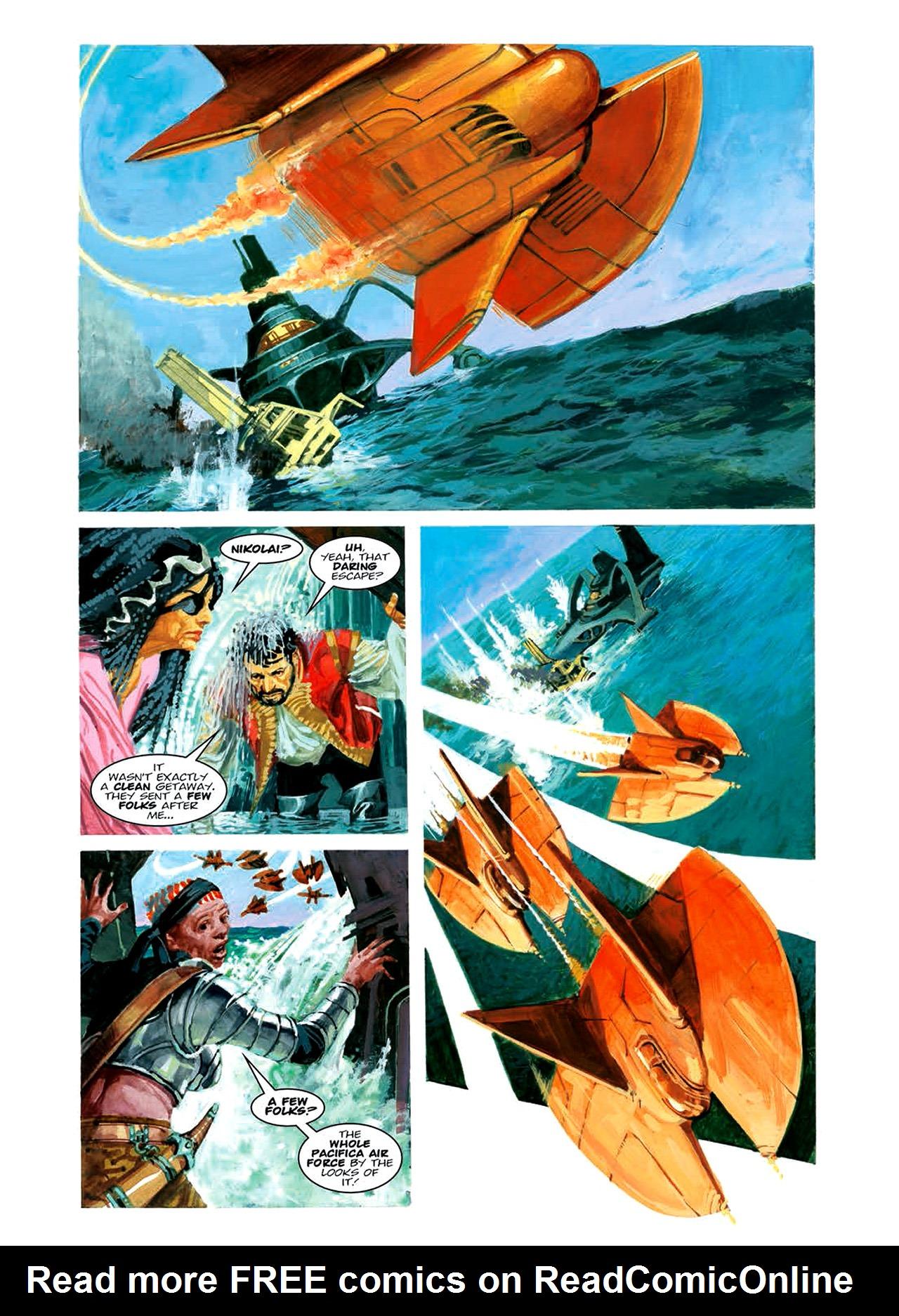 Read online Nikolai Dante comic -  Issue # TPB 6 - 125