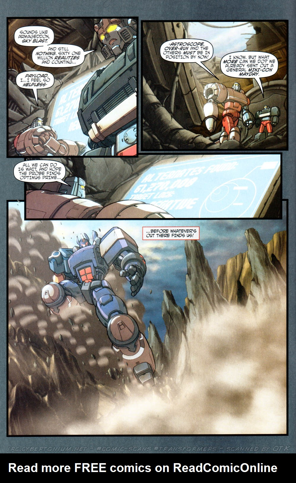 Read online Transformers Armada comic -  Issue #16 - 8