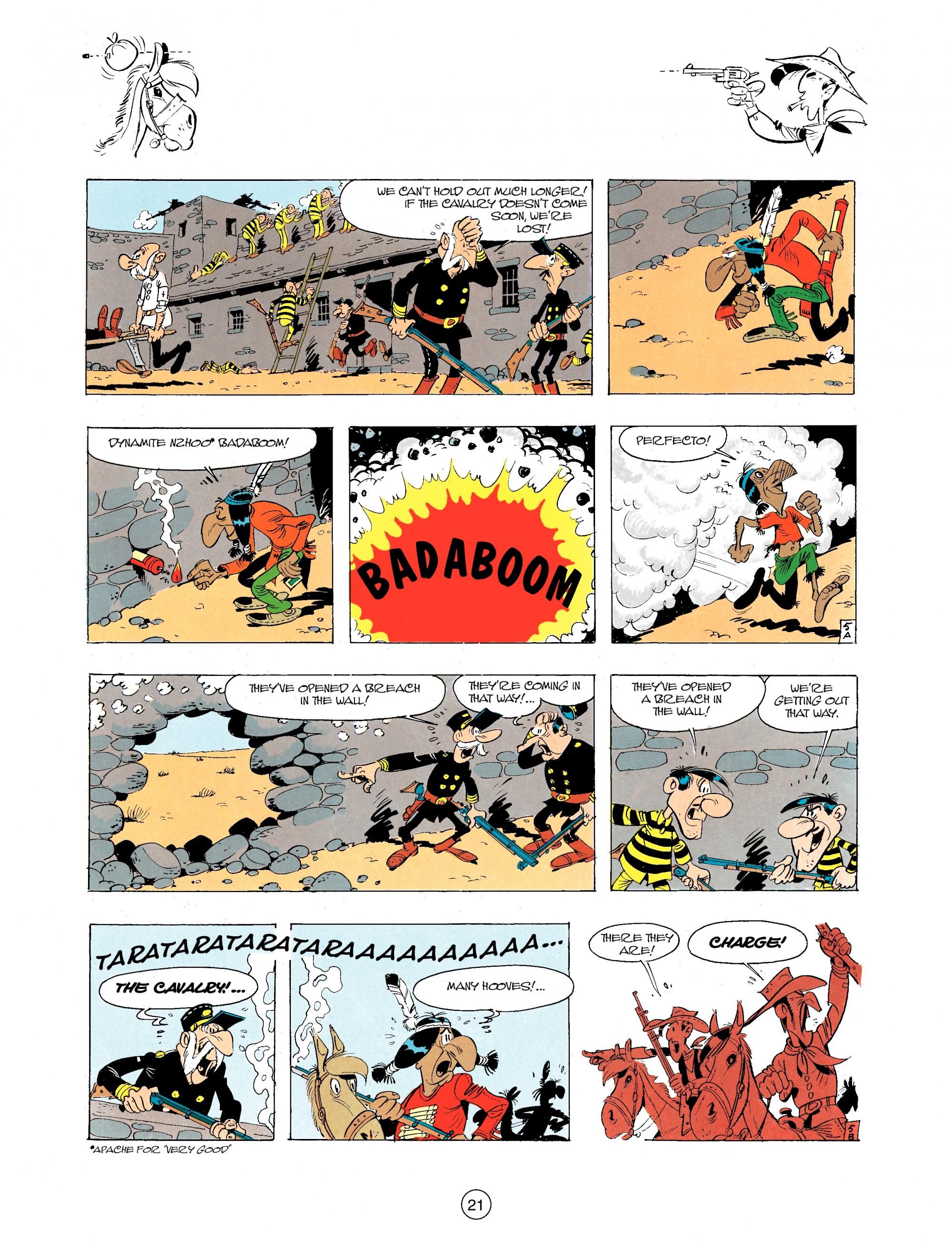 Read online A Lucky Luke Adventure comic -  Issue #34 - 21