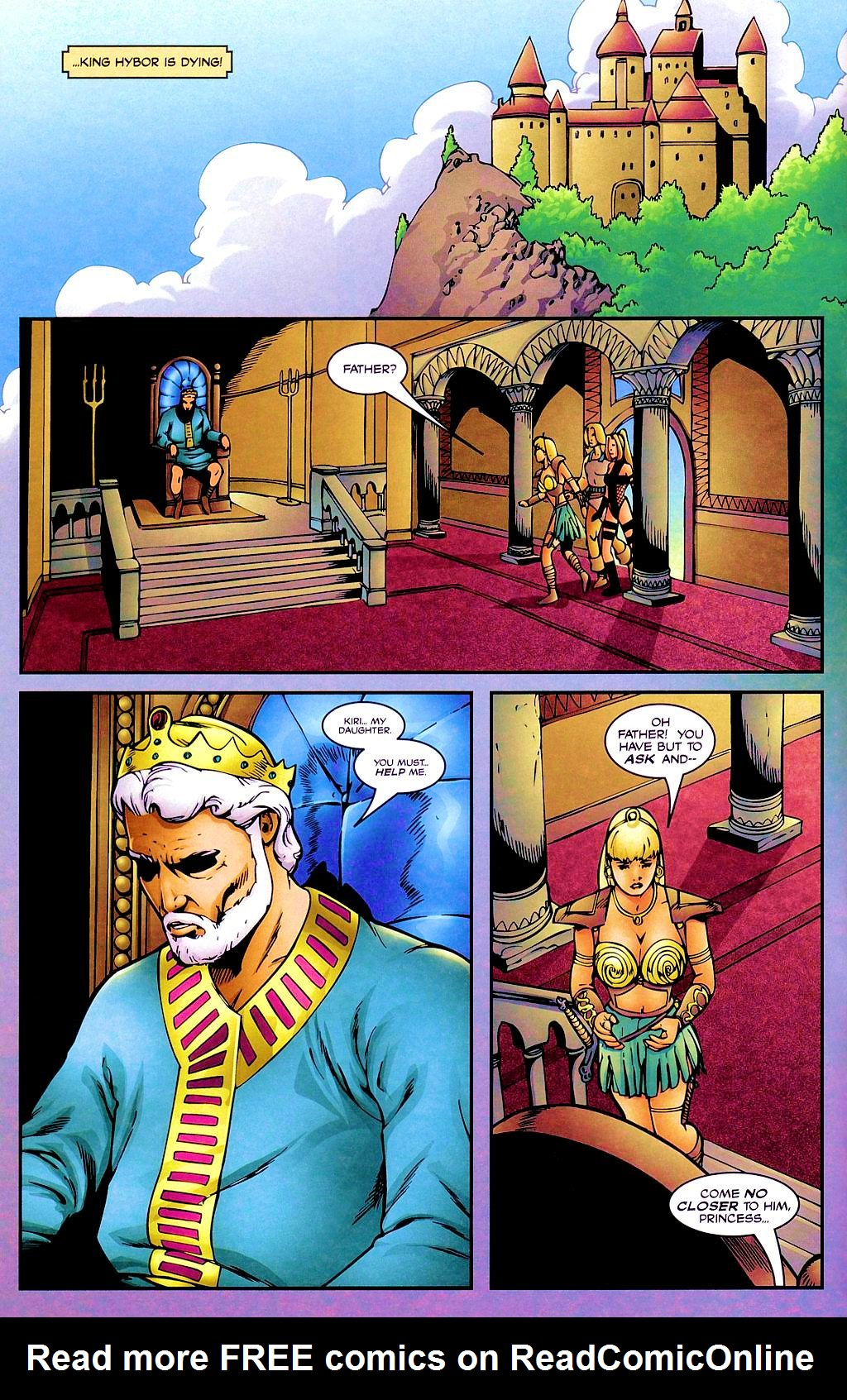 Read online Avengelyne: Dragon Realm comic -  Issue #1 - 13