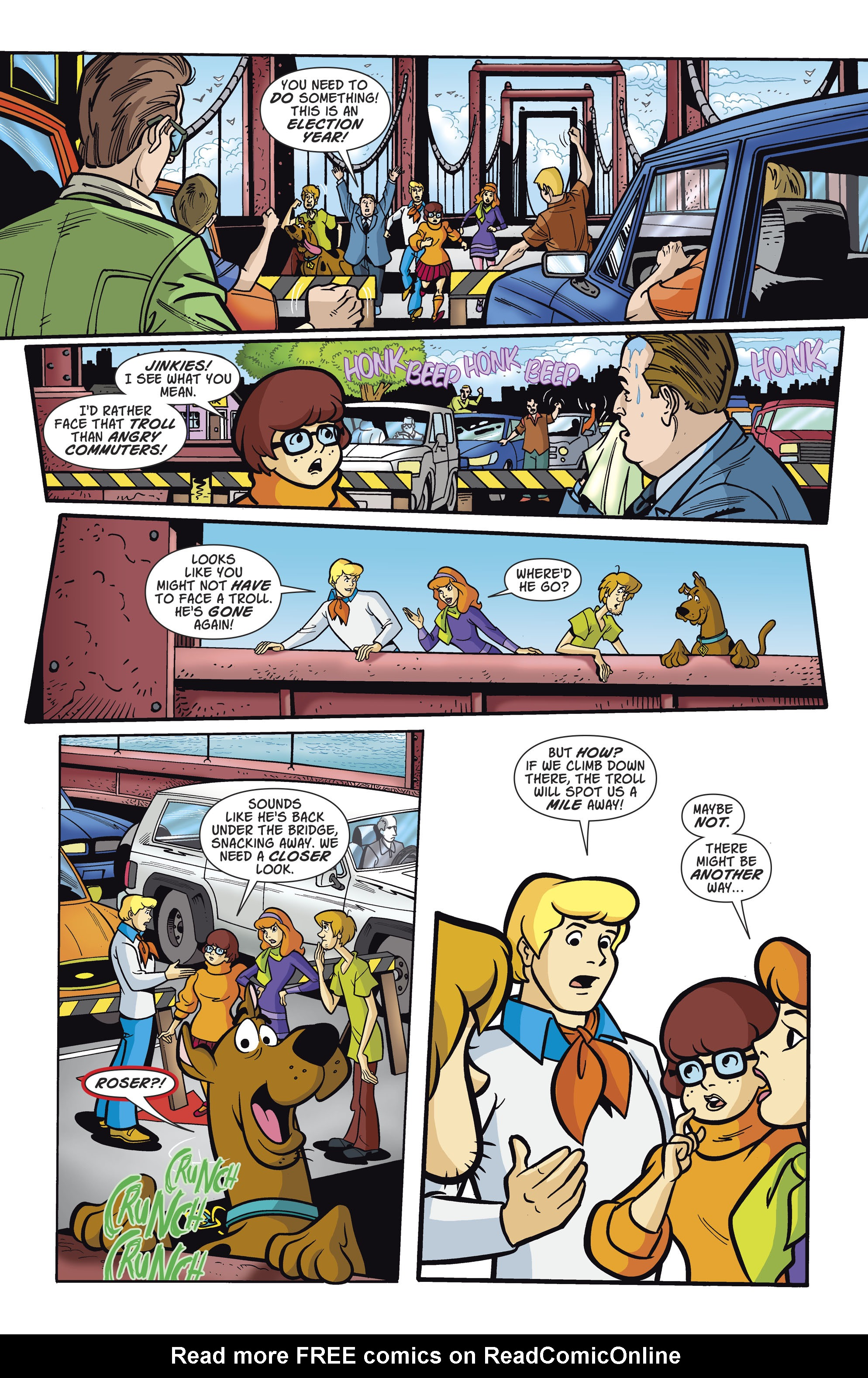 Read online Scooby-Doo: Where Are You? comic -  Issue #81 - 6