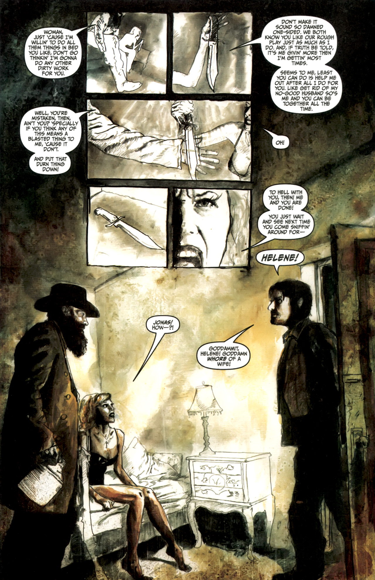 Read online Silent Hill: Past Life comic -  Issue #3 - 6