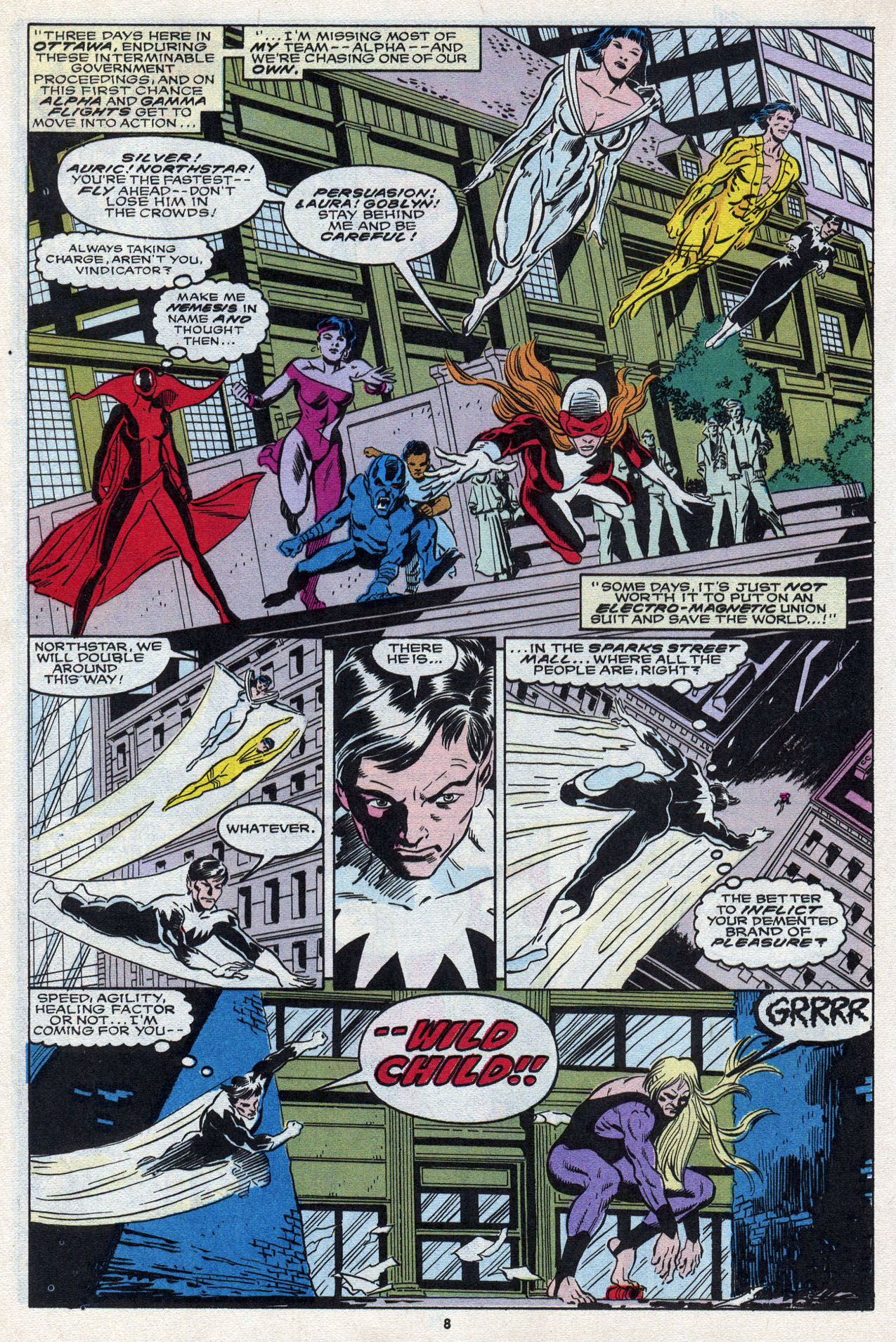 Read online Alpha Flight (1983) comic -  Issue #87 - 10