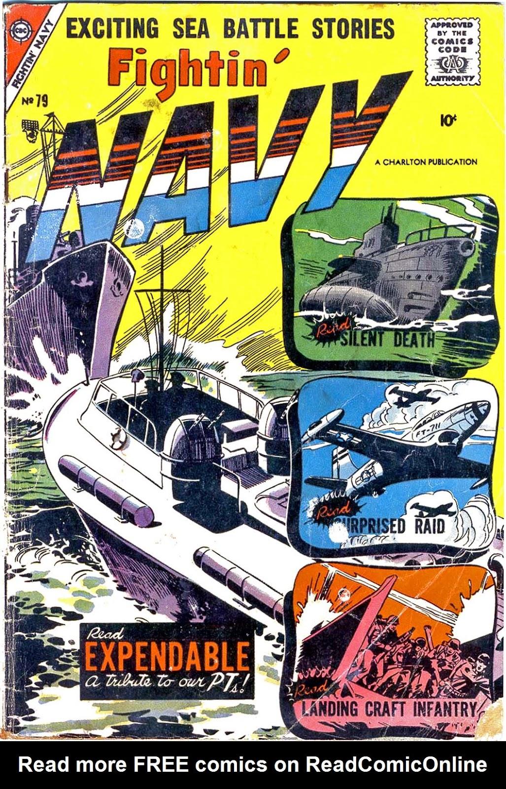 Read online Fightin' Navy comic -  Issue #79 - 1
