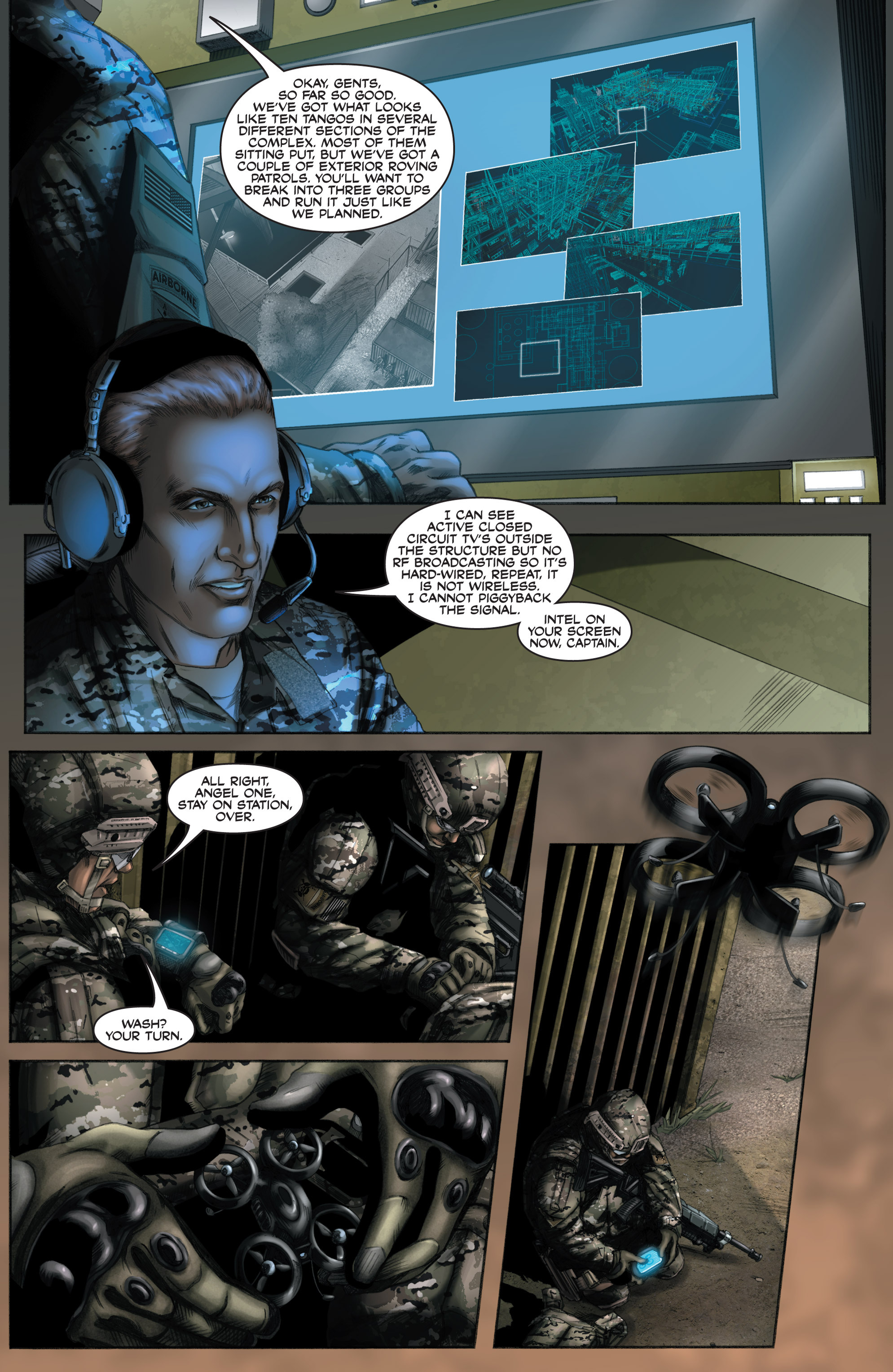 Read online America's Army comic -  Issue #8 - 14