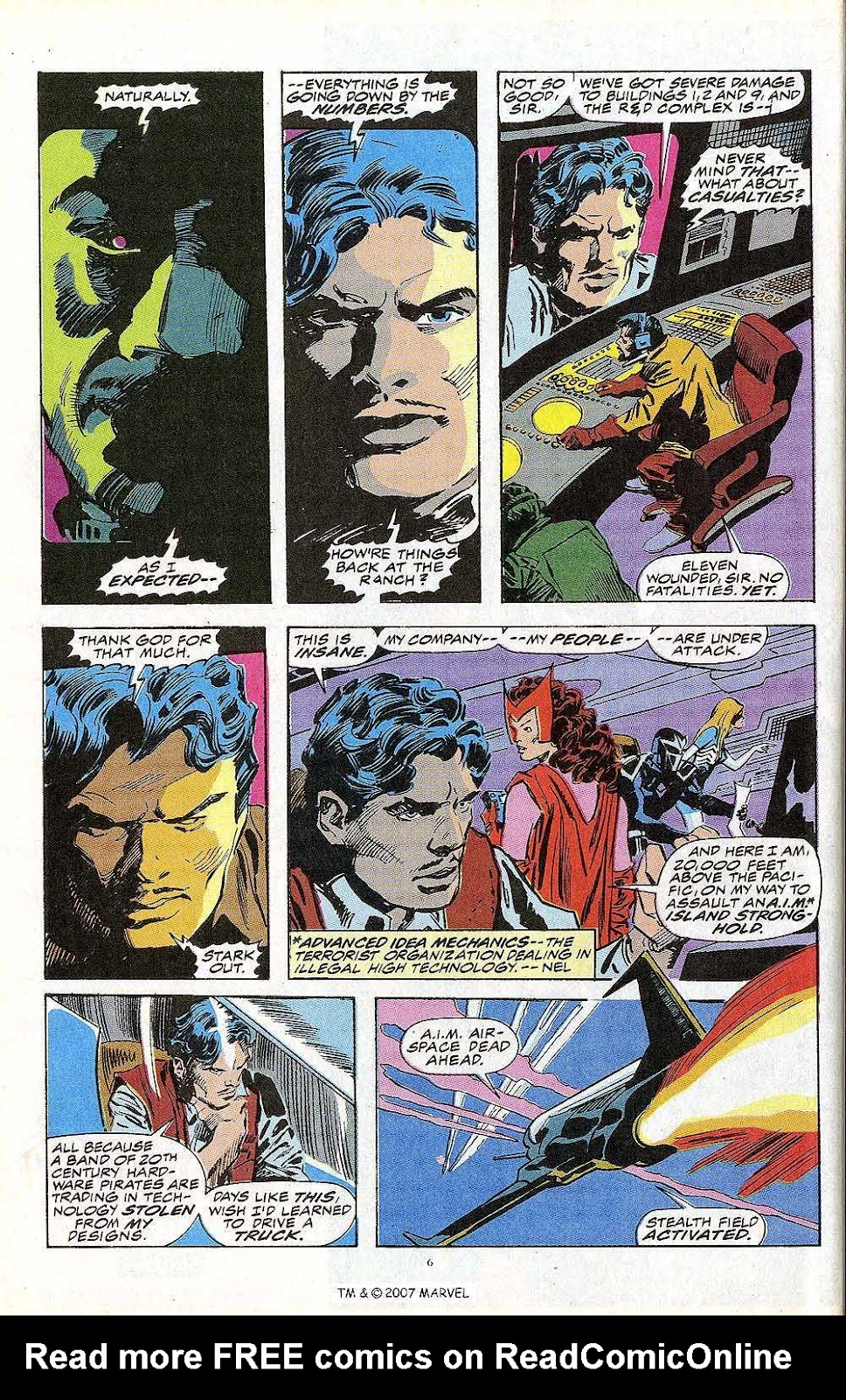 Iron Man Annual issue 13 - Page 8