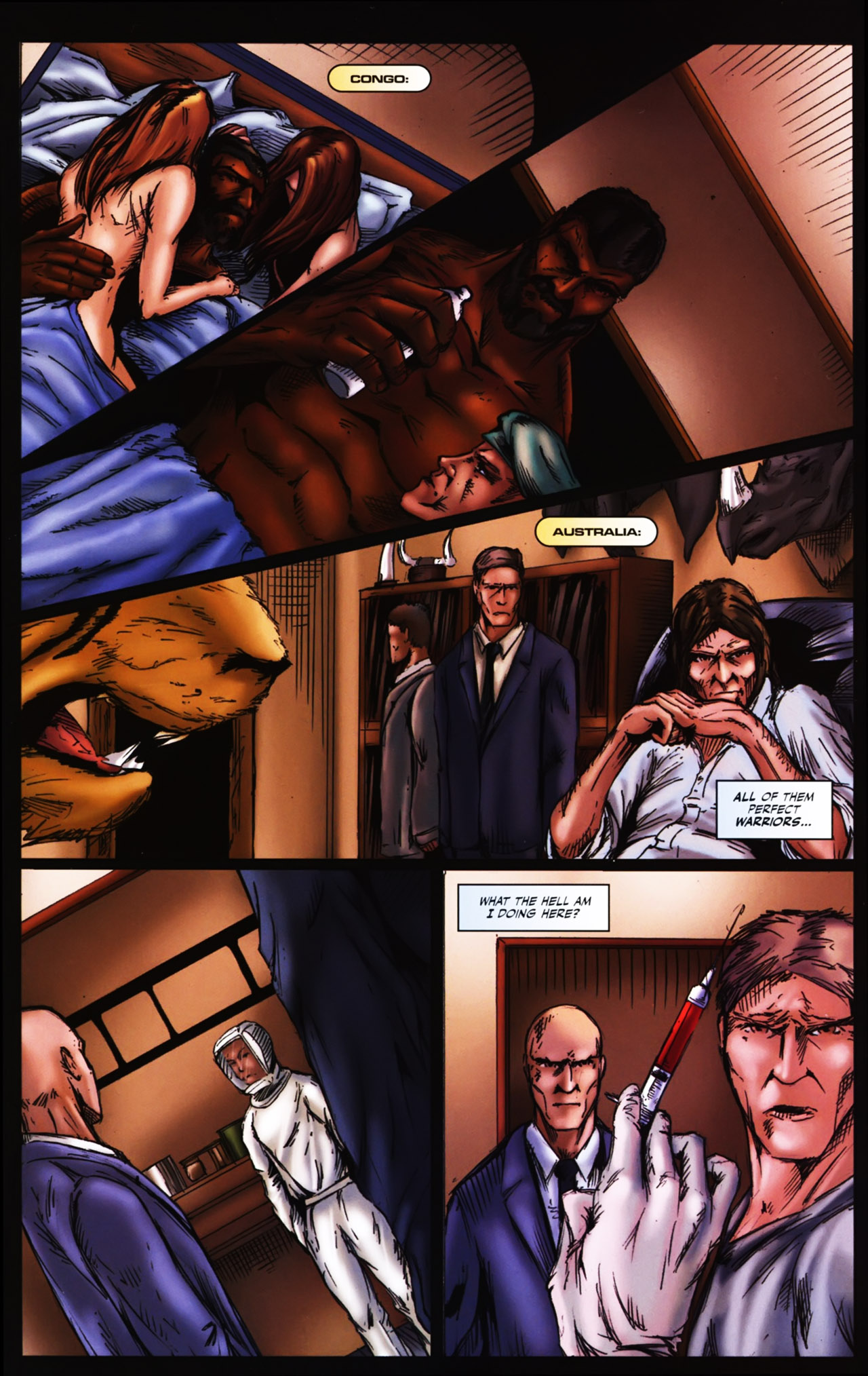Read online Agon comic -  Issue #1 - 22