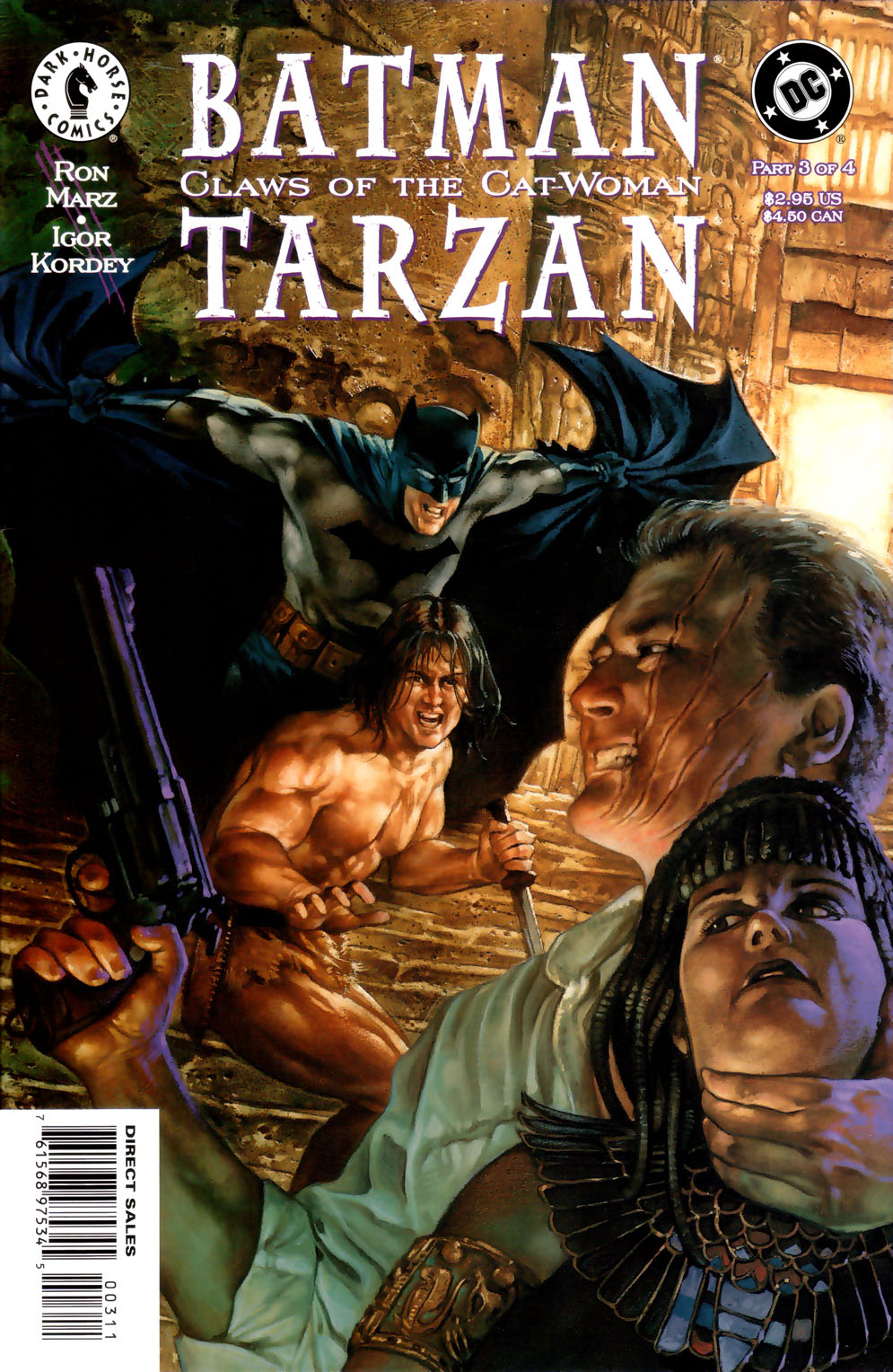 Batman/Tarzan: Claws of the Cat-Woman 3 Page 1
