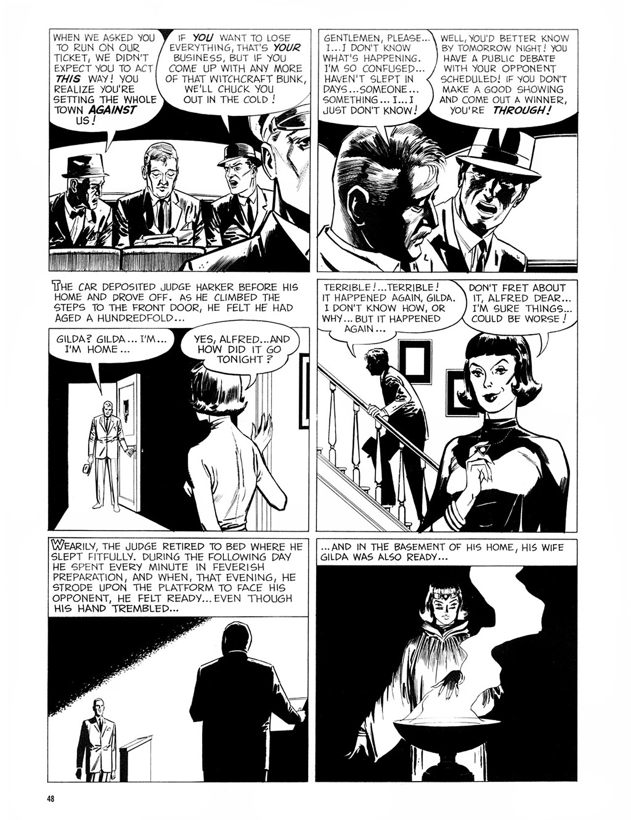 Read online Eerie Archives comic -  Issue # TPB 2 - 49
