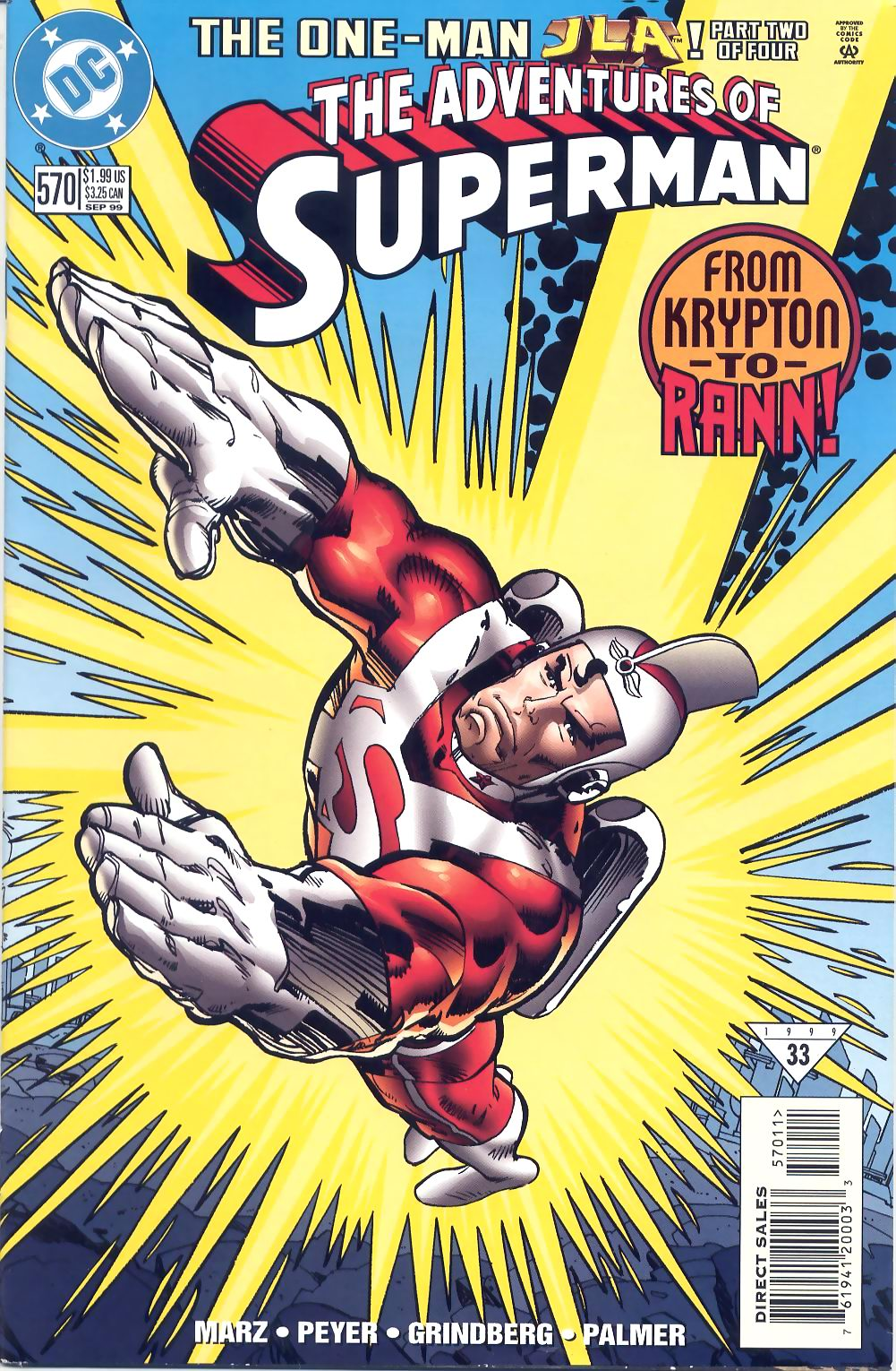 Read online Adventures of Superman (1987) comic -  Issue #570 - 1