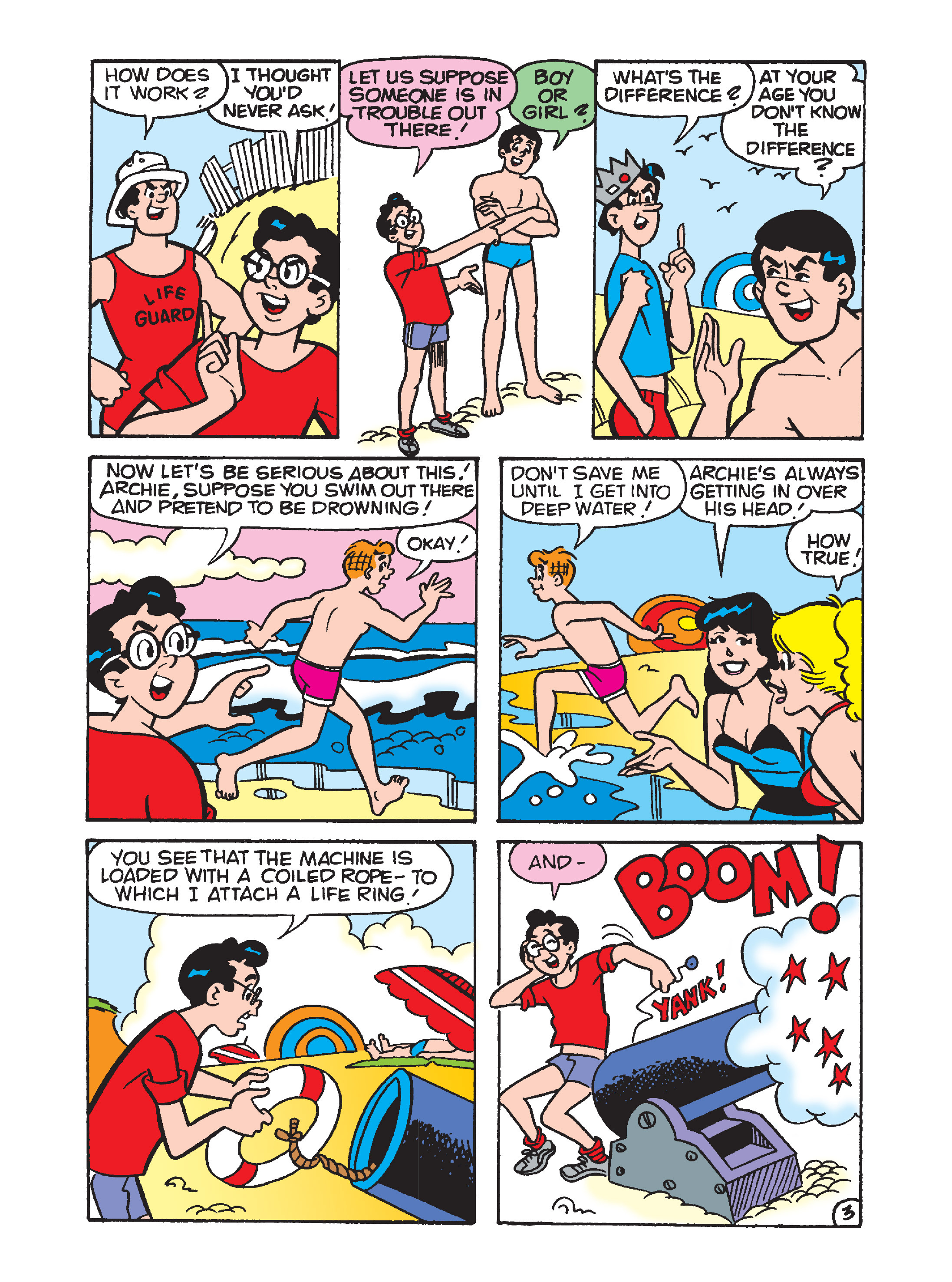 Read online Archie's Funhouse Double Digest comic -  Issue #7 - 103