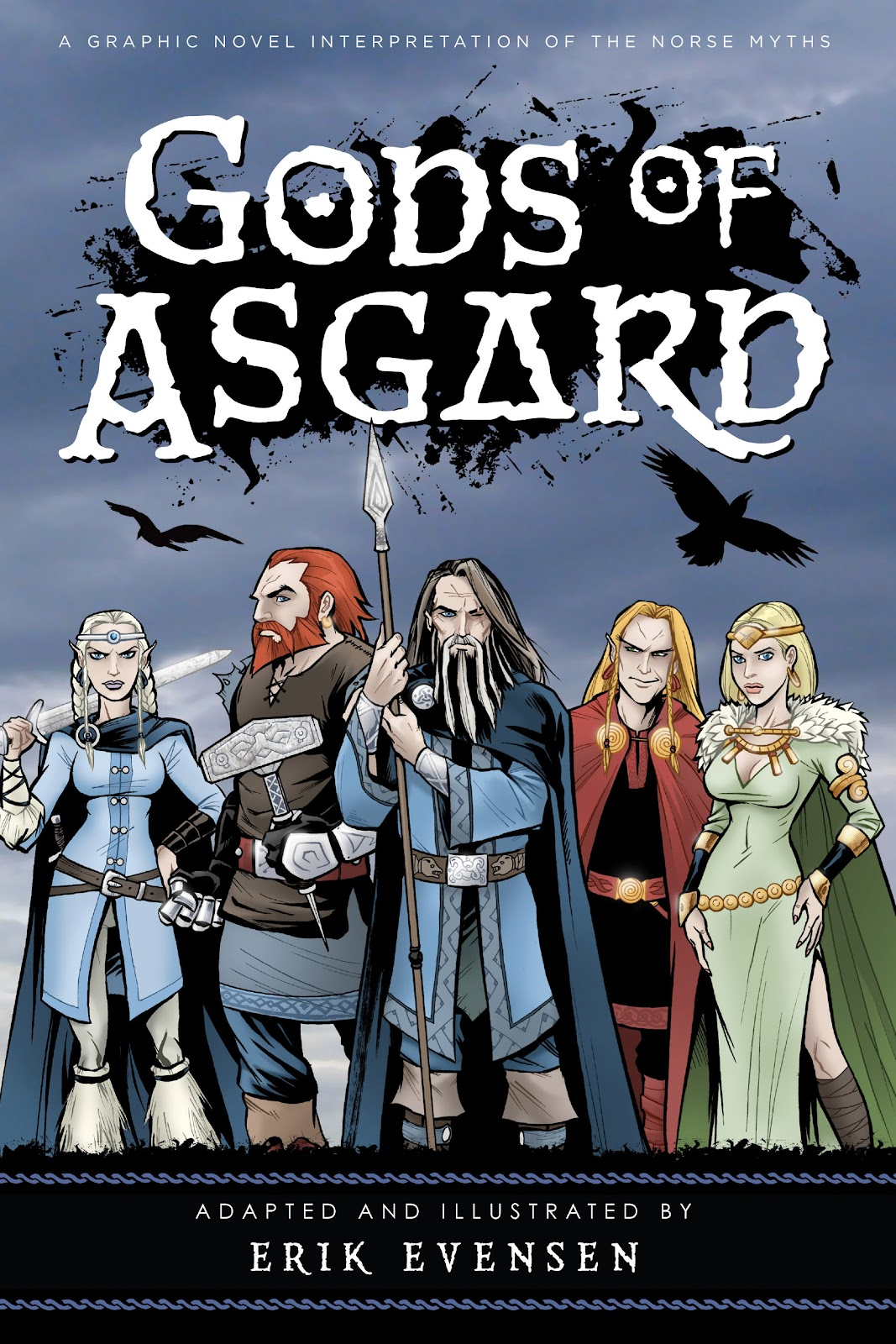 Read online Gods of Asgard comic -  Issue # TPB (Part 1) - 1