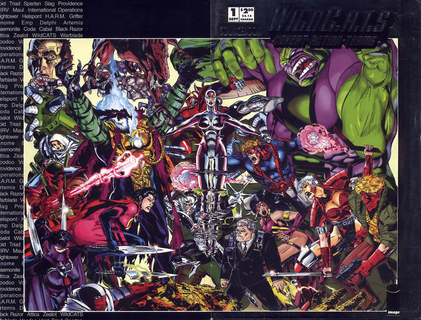 WildC.A.T.s Sourcebook 1 Page 1