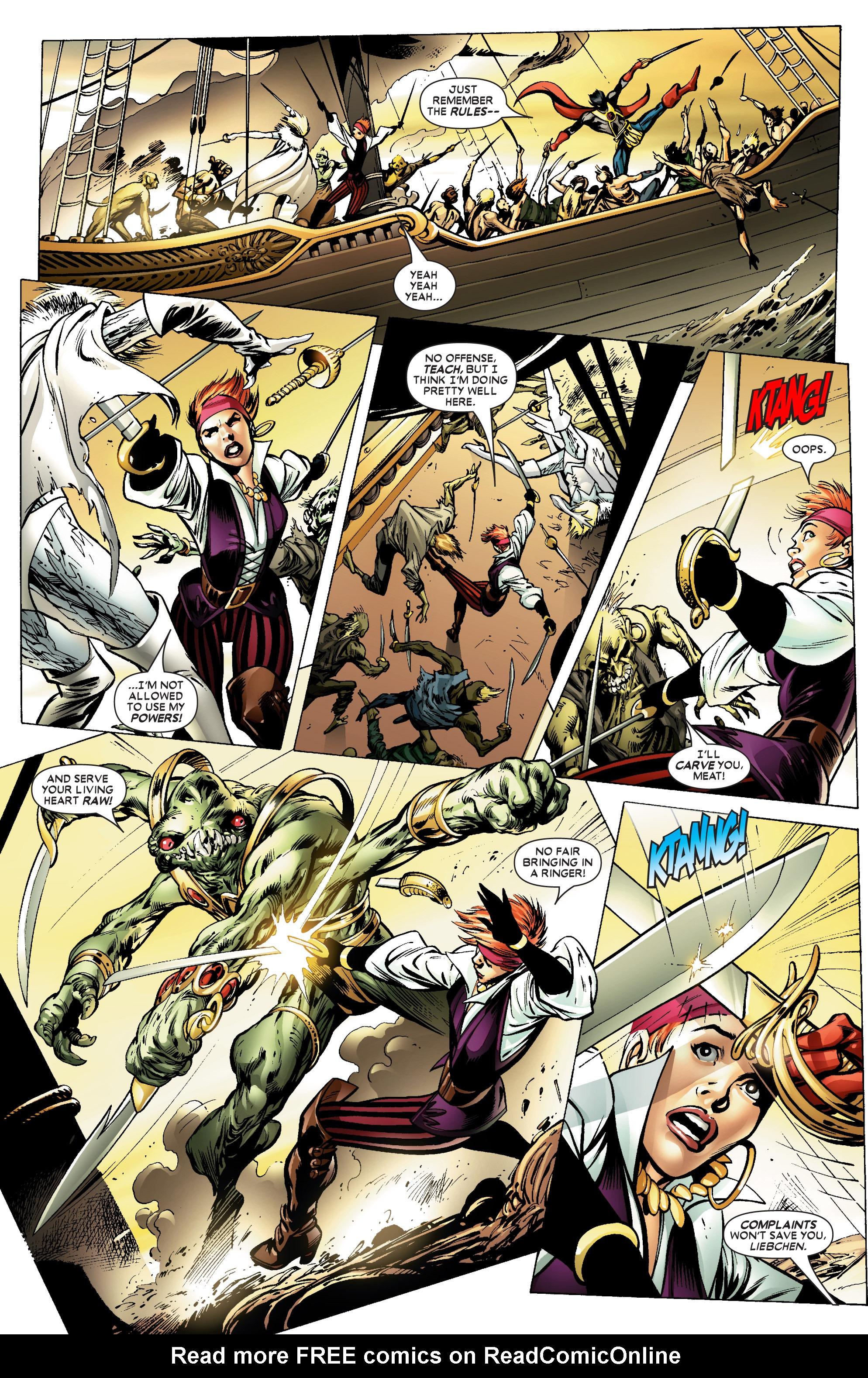 Read online Uncanny X-Men (1963) comic -  Issue #450 - 4