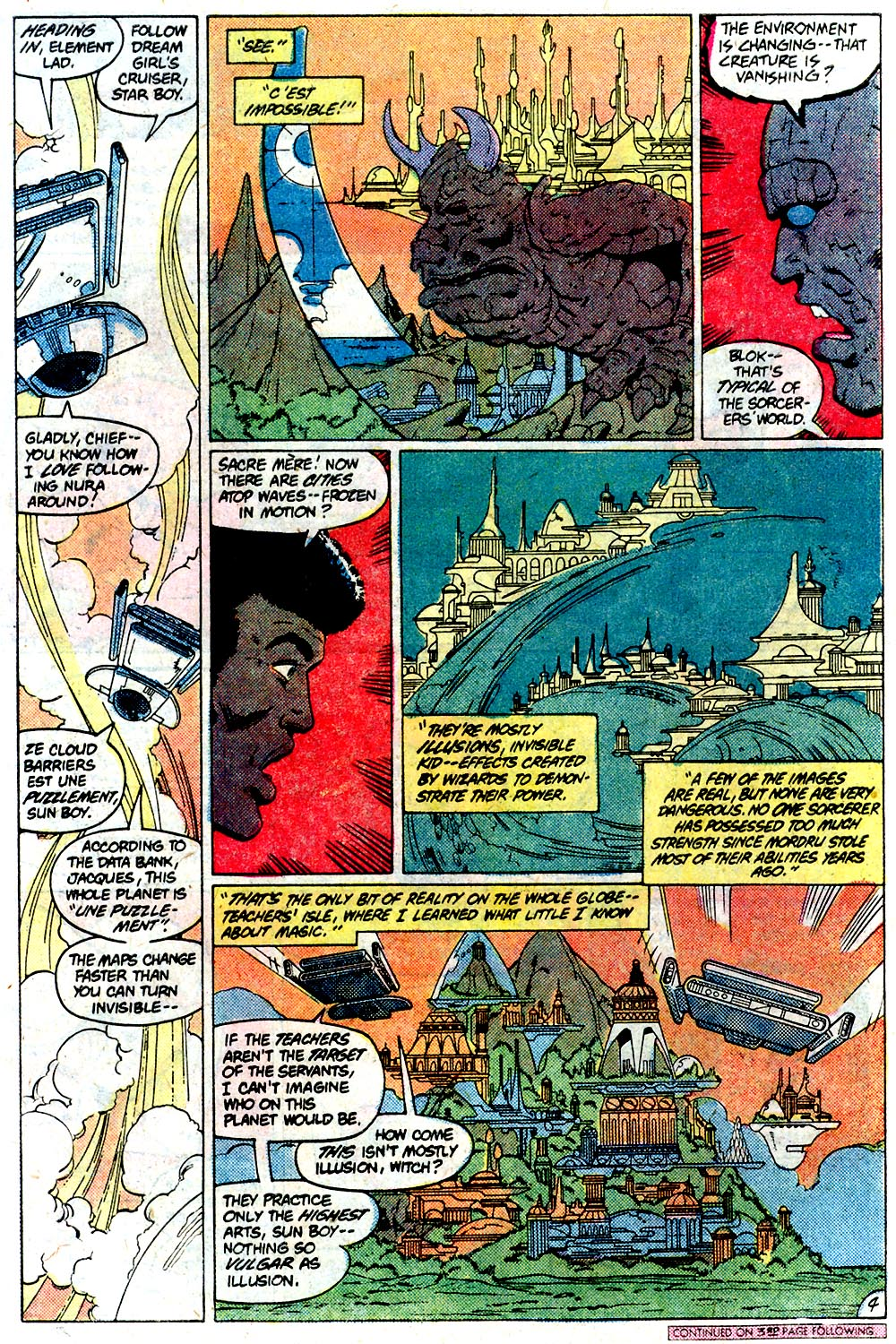 Legion of Super-Heroes (1980) 292 Page 4
